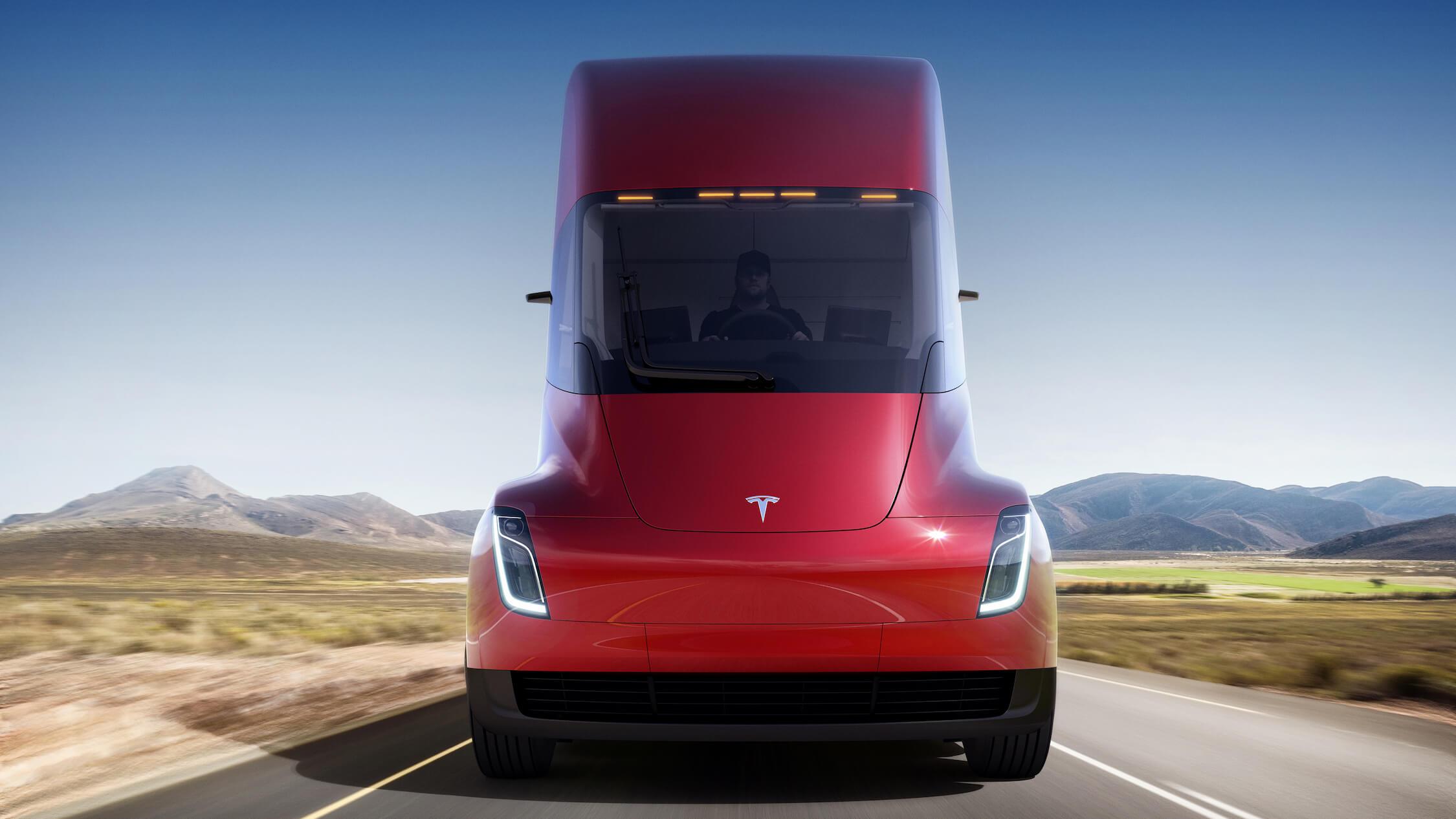 Tesla vrachtauto