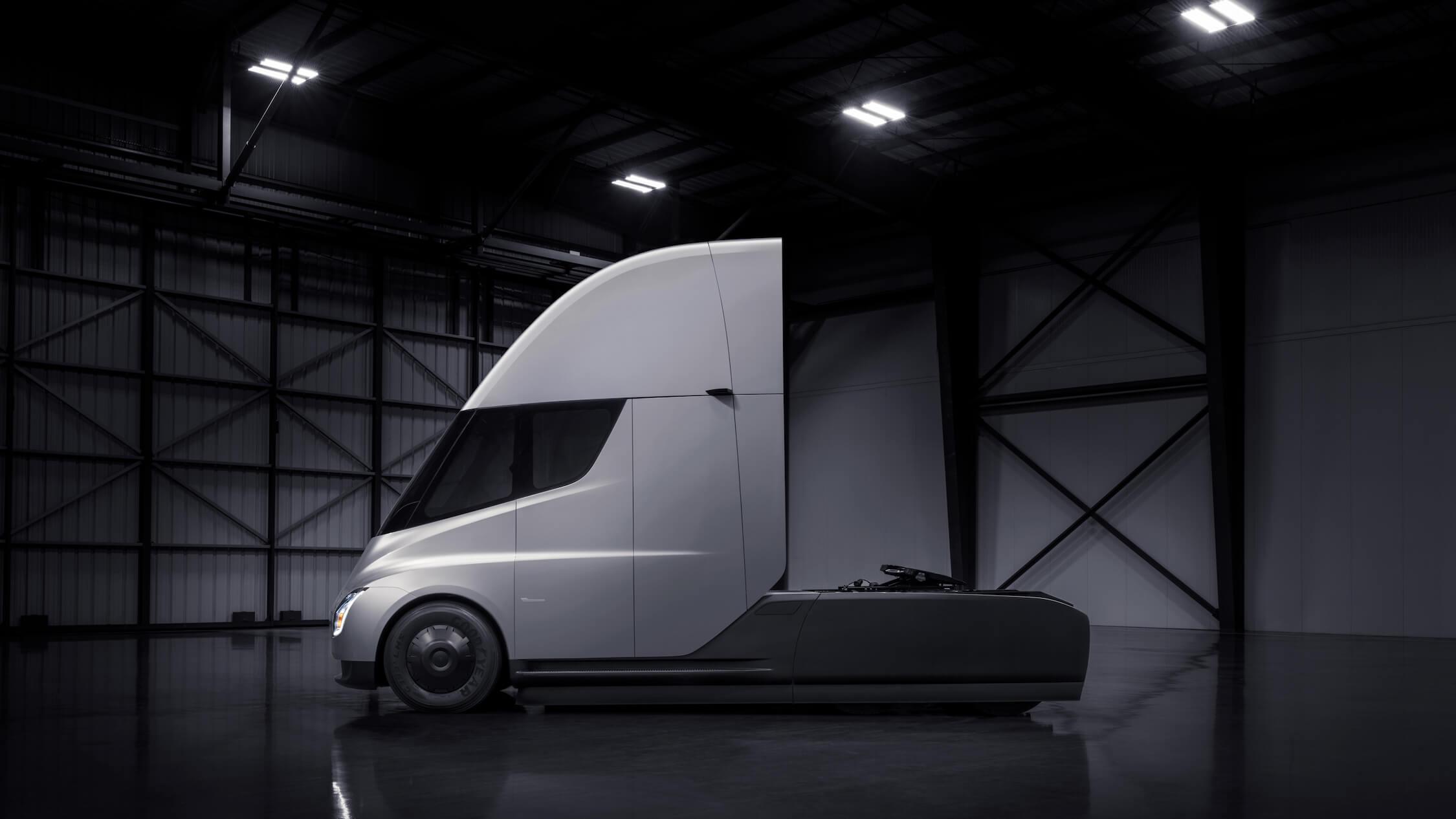 Tesla vrachtwagen