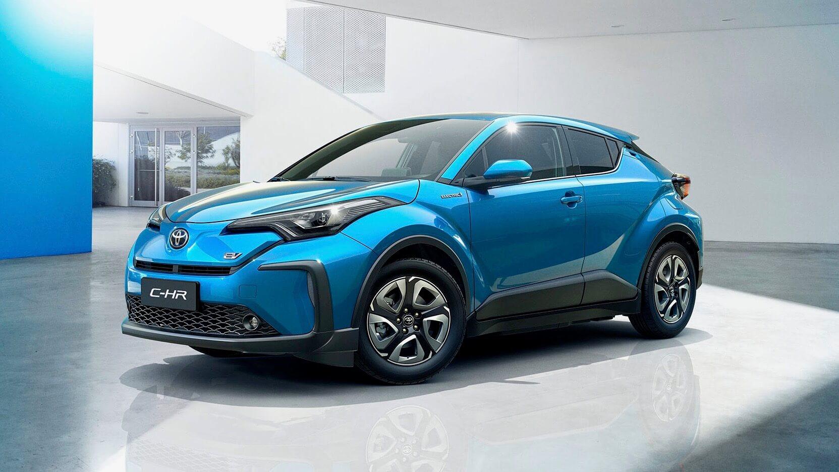 Toyota C-HR elektrisch