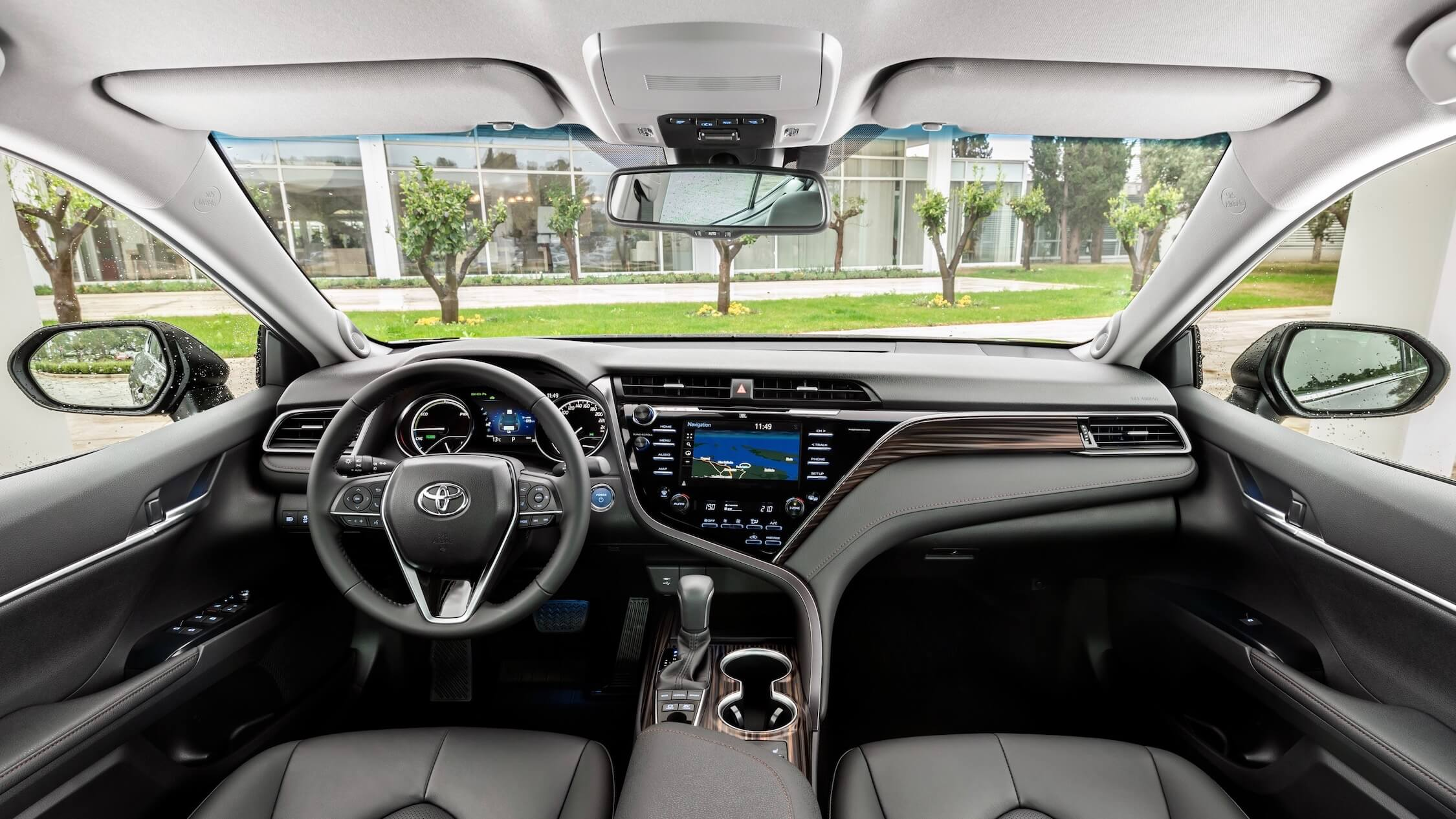 Toyota Camry hybride interieur