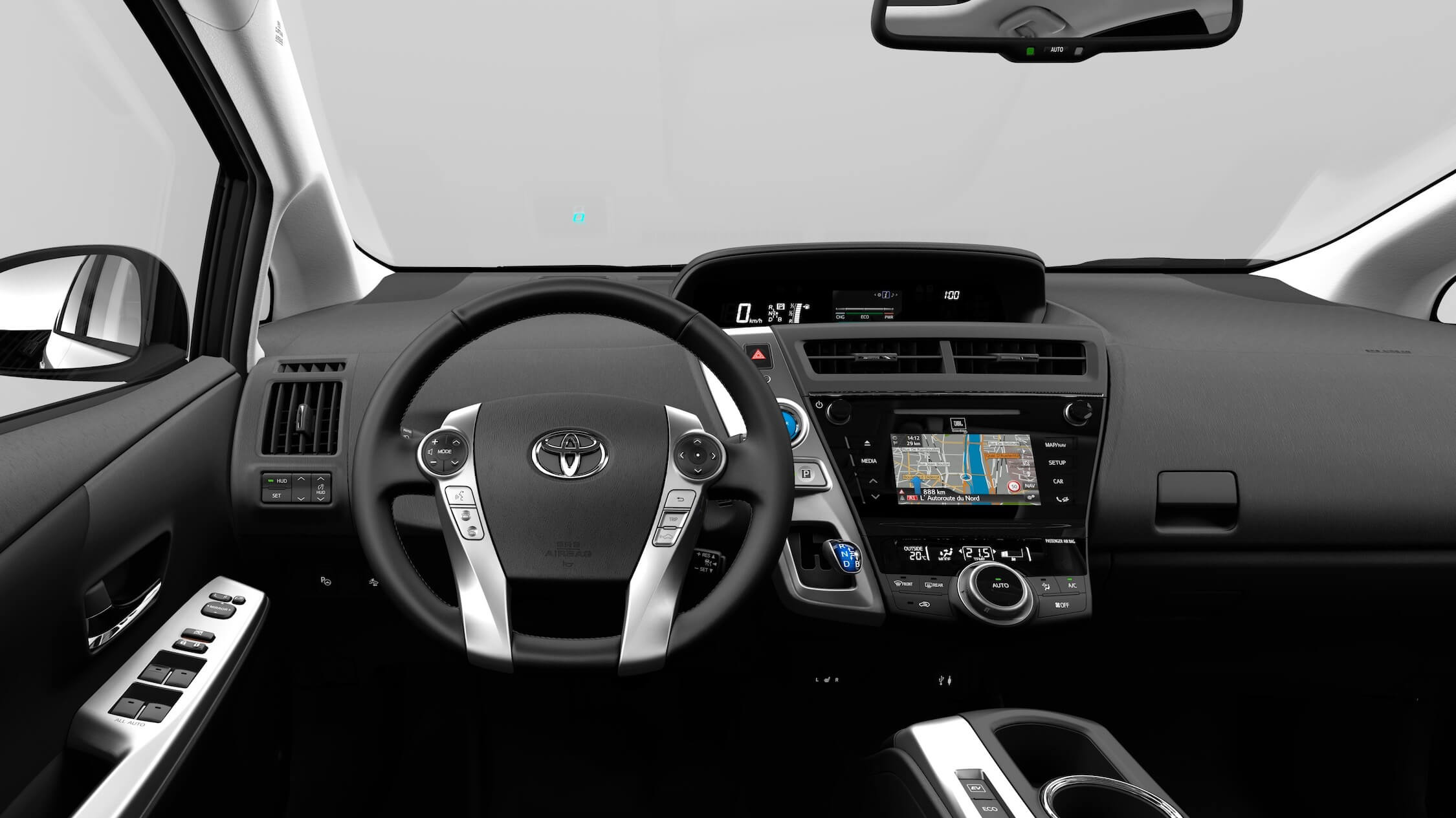 Toyota Prius Plus interieur