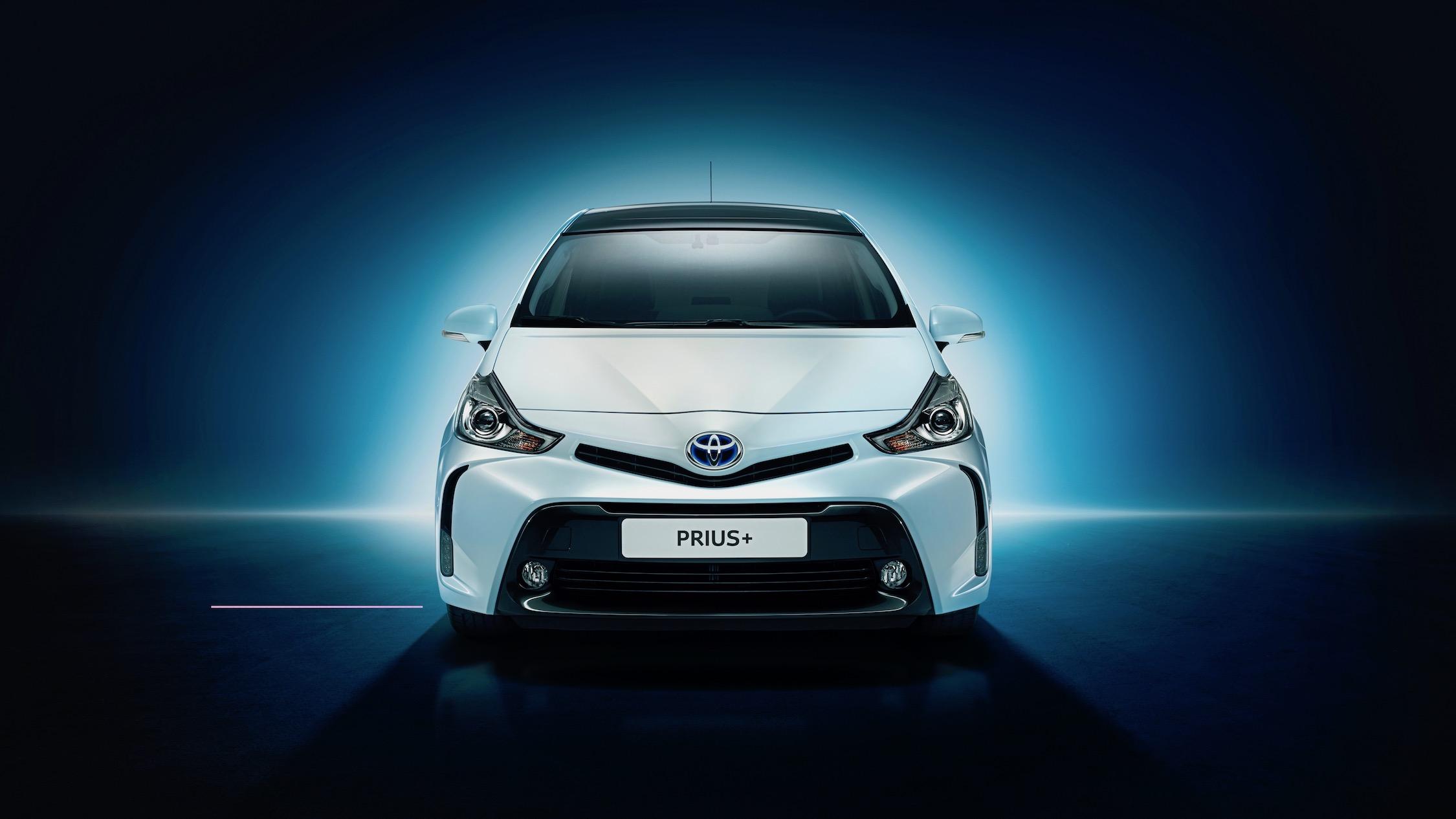 Toyota Prius Plus voorkant