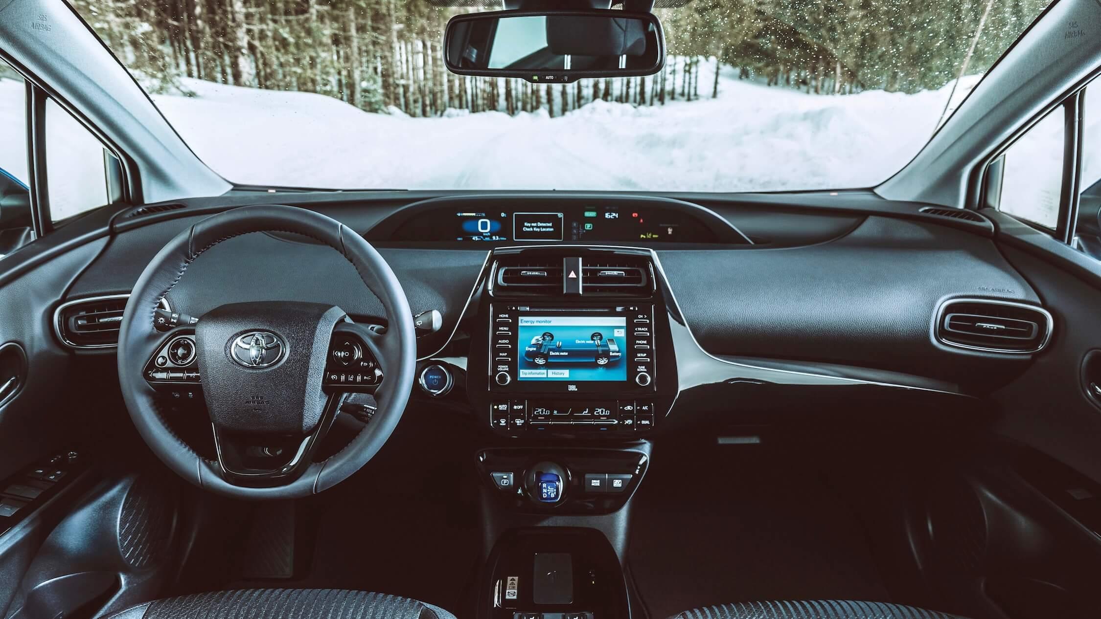 Toyota Prius interieur
