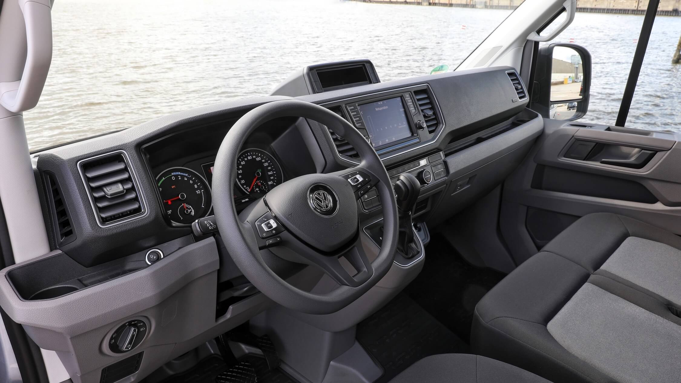 VW e-Crafter interieur