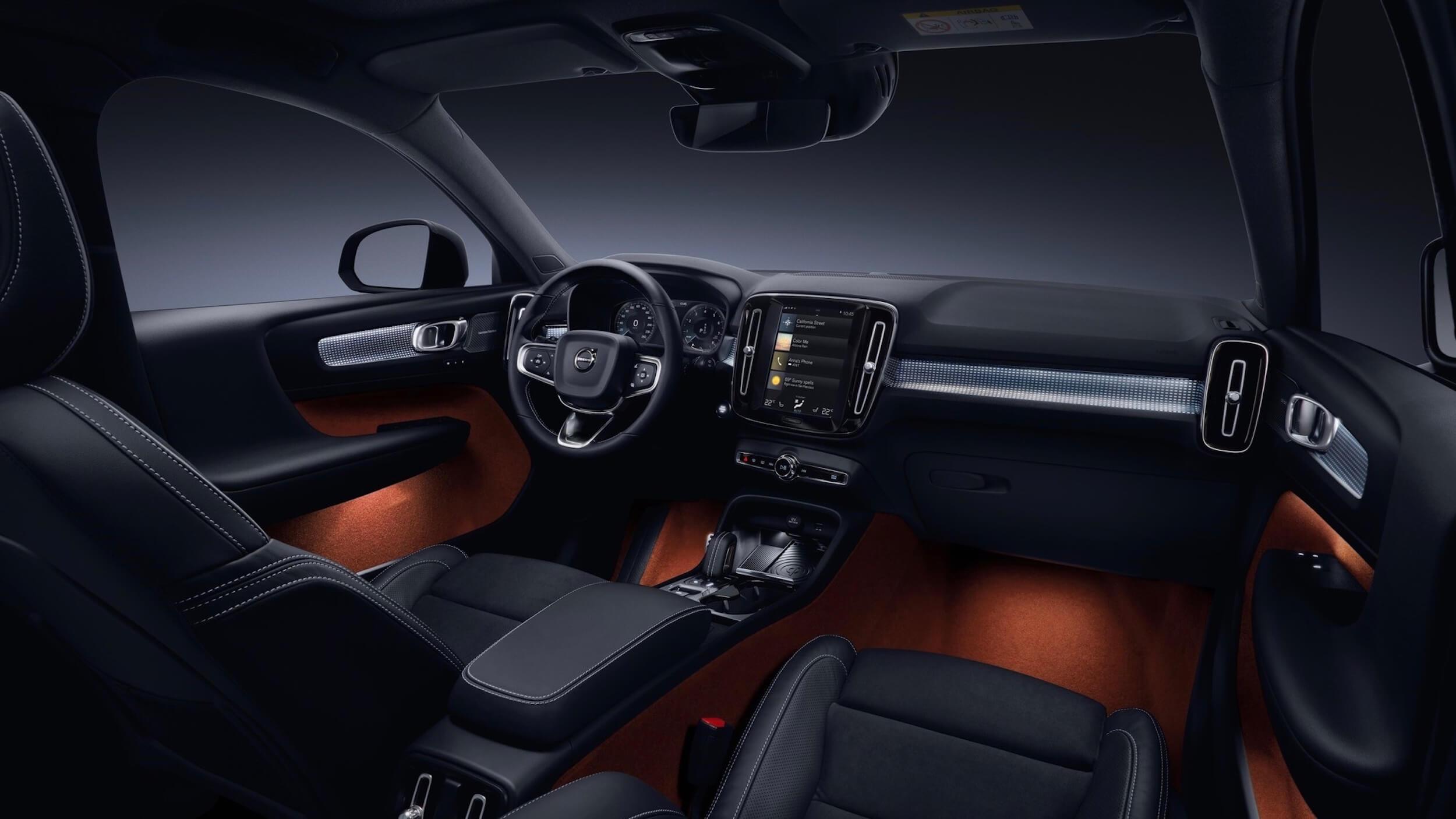 Volvo XC40 PHEV interieur