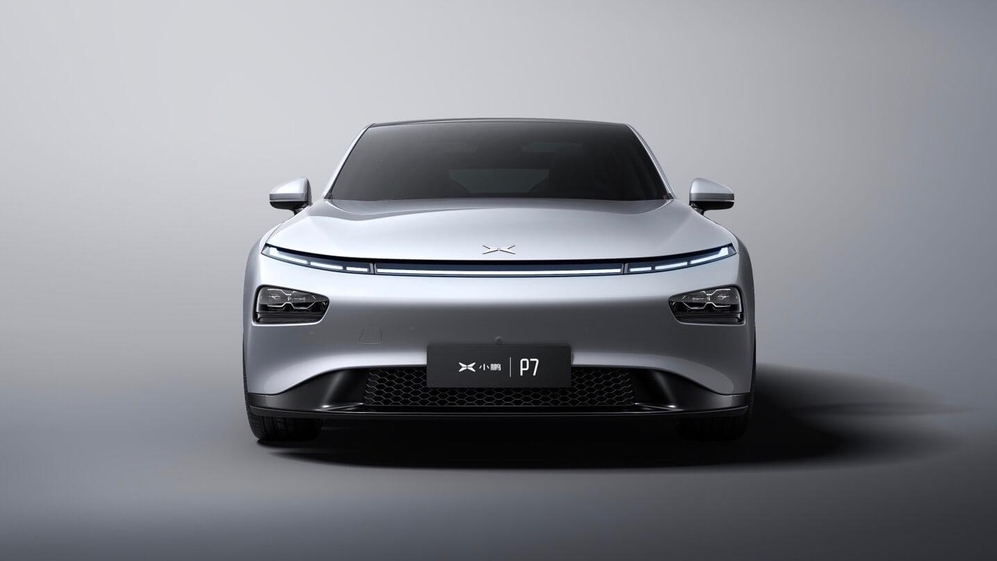 XPeng Motors P7 elektrische sedan