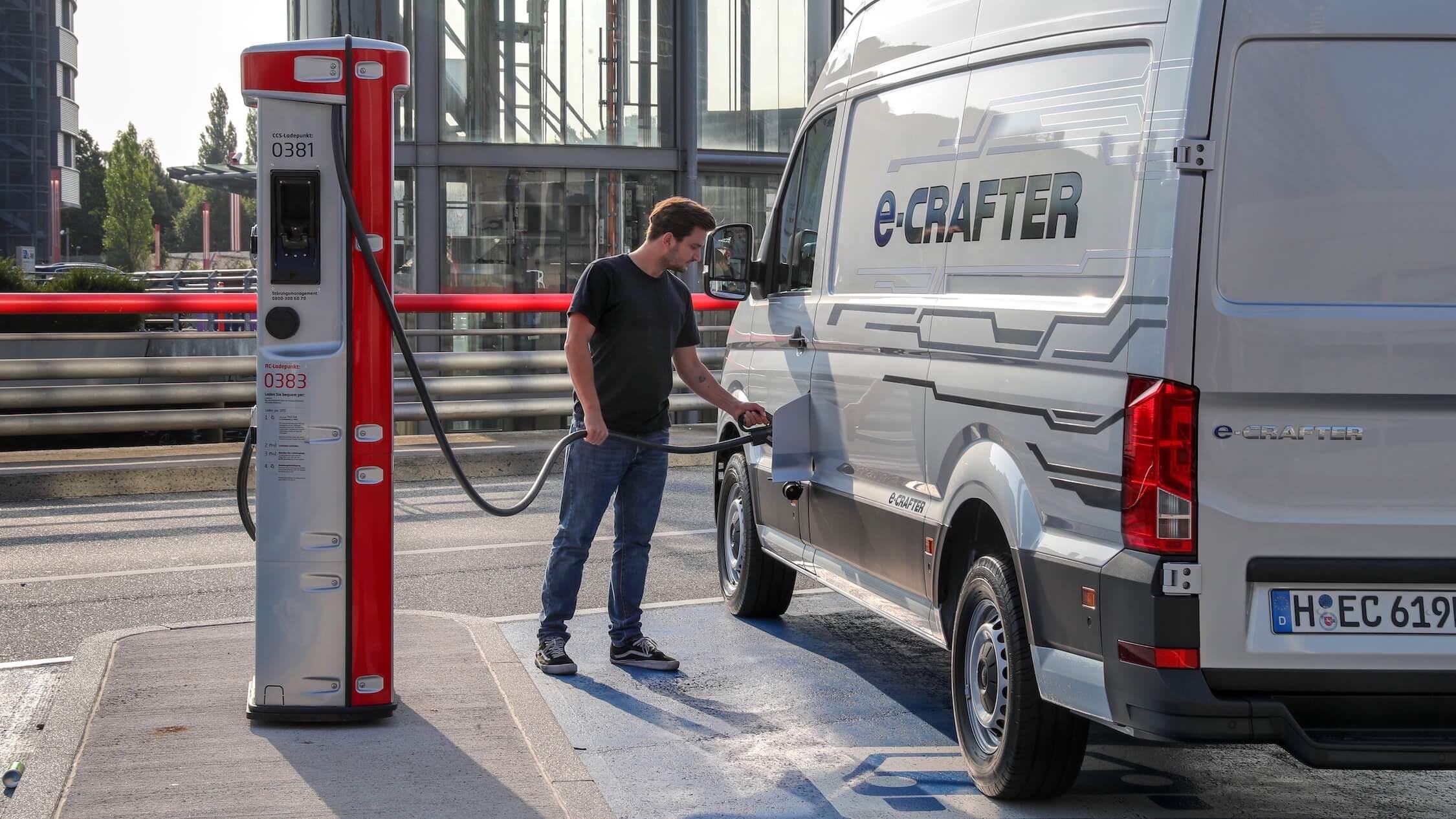 elektrische bestelwagen Volkswagen