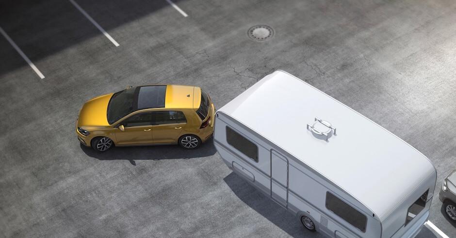 Hybride met aanhangwagen