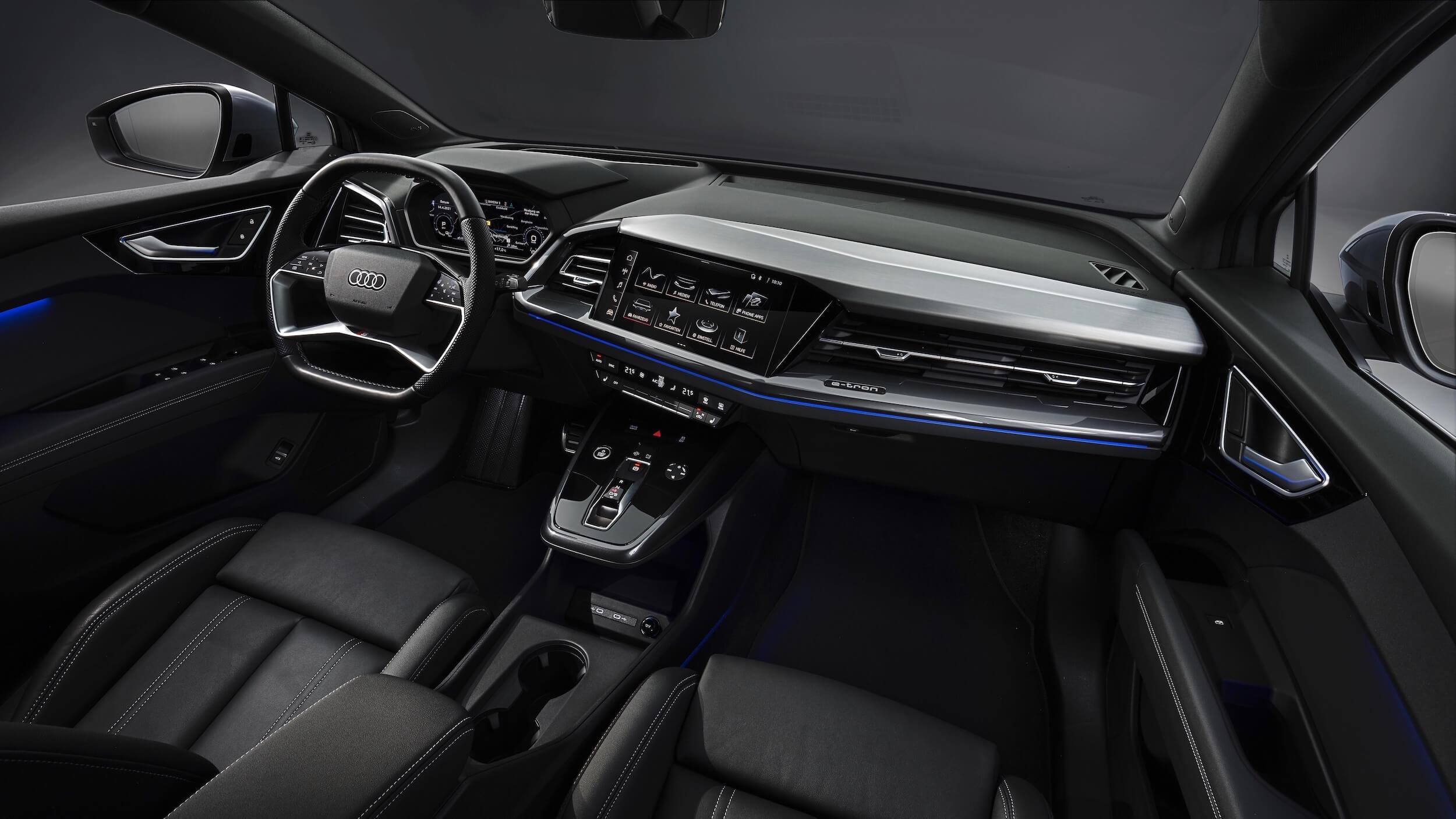 Audi Q4 e tron interieur 1
