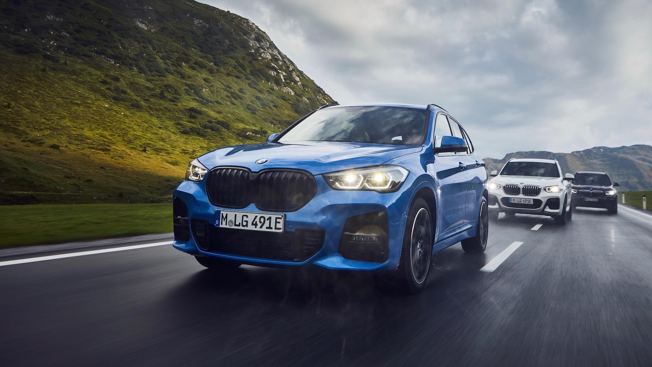 BMW X1 xDrive25e blauw