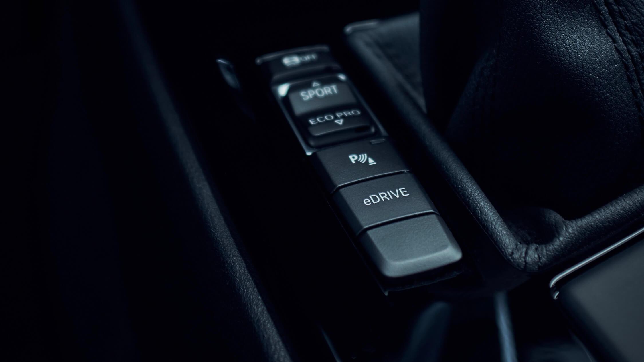 BMW eDrive knop