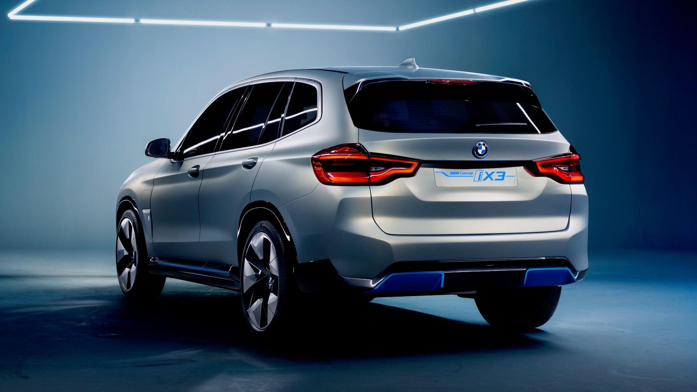 Elektrische BMW iX3
