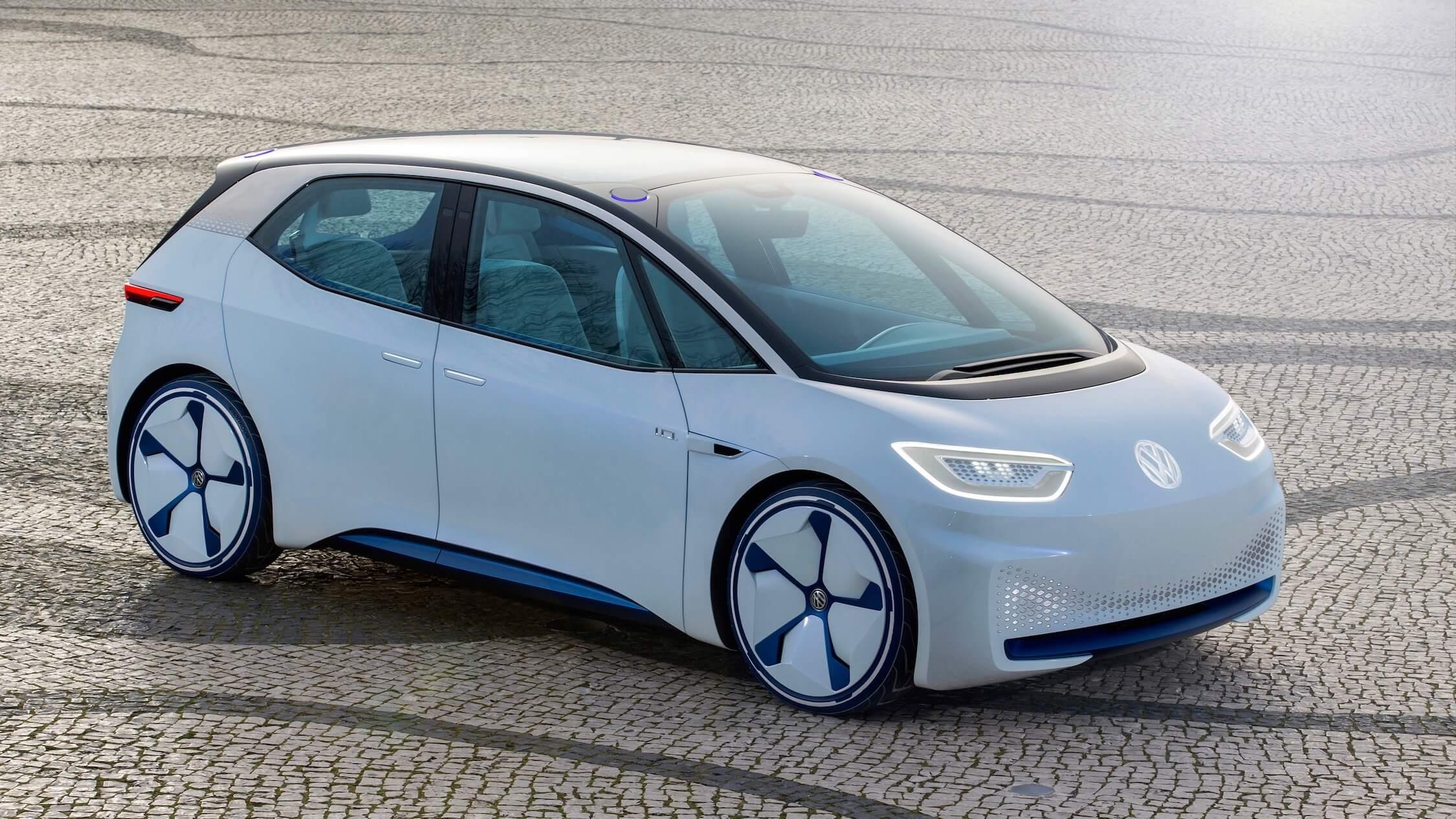 Elektrische Volkswagen ID