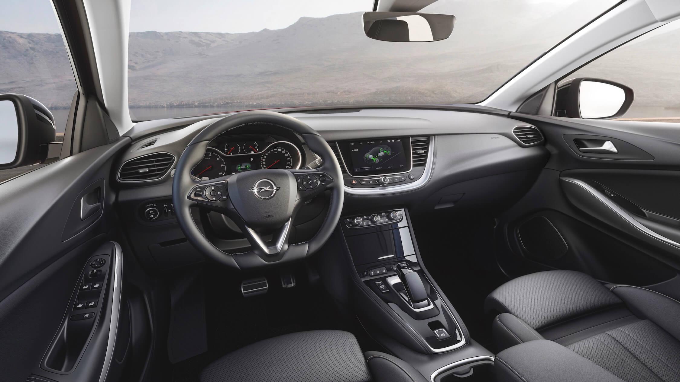 Hybride Opel Grandland interieur