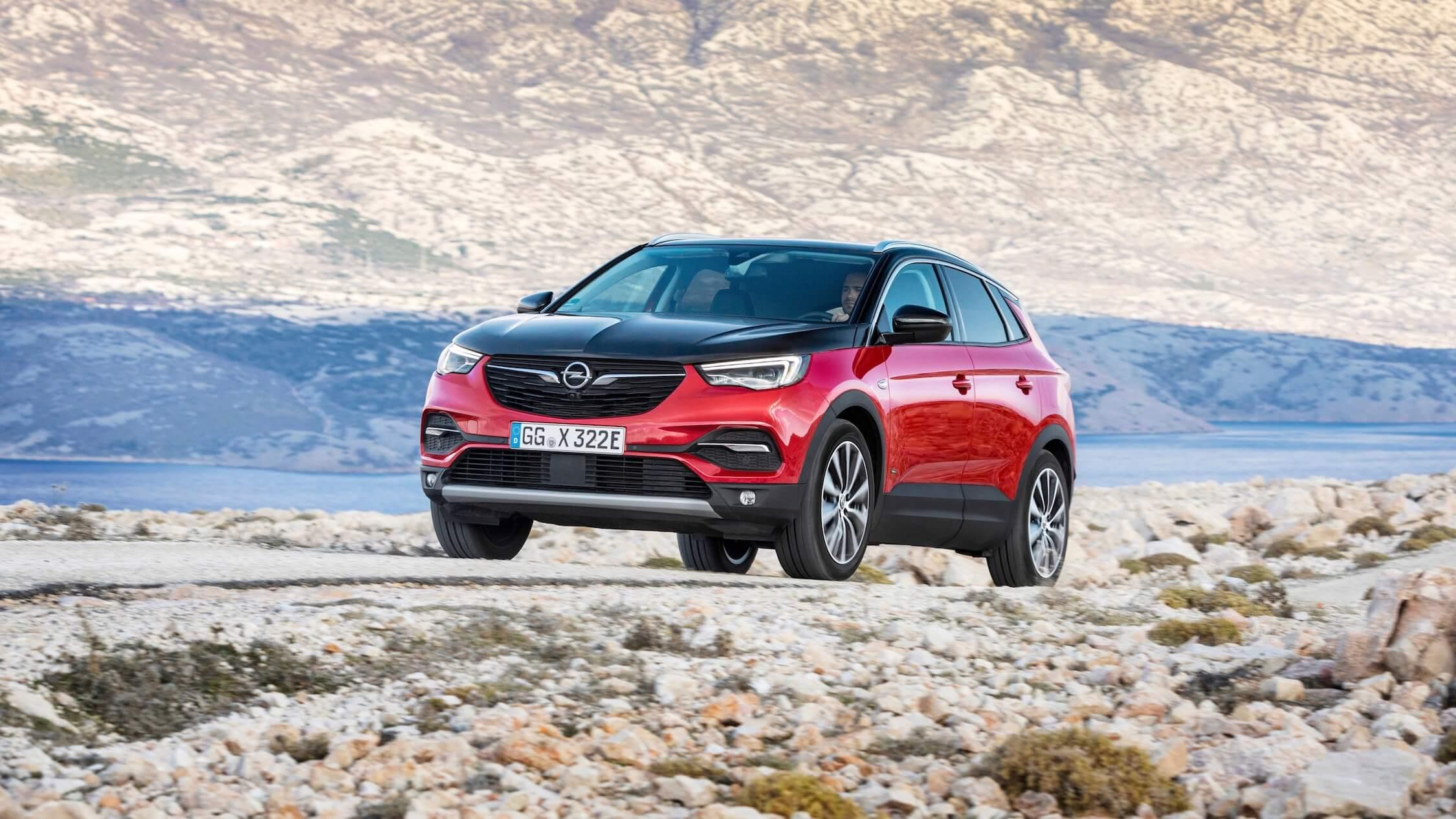 Hybride Opel Grandland