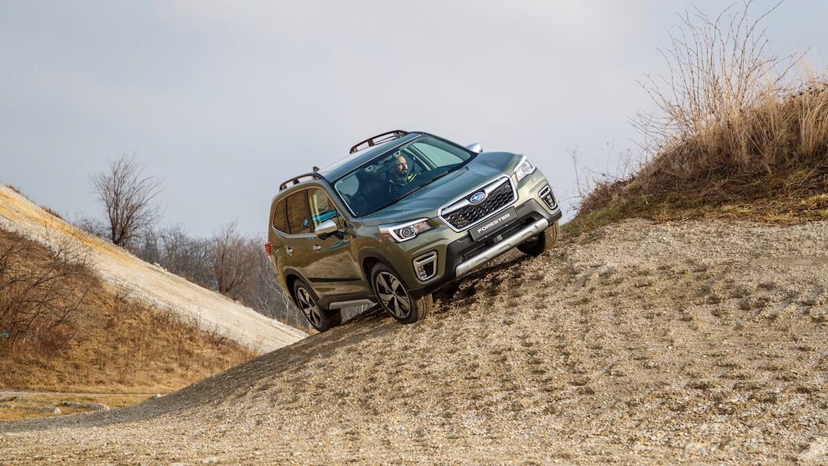 Hybride Subaru Forester e-Boxer