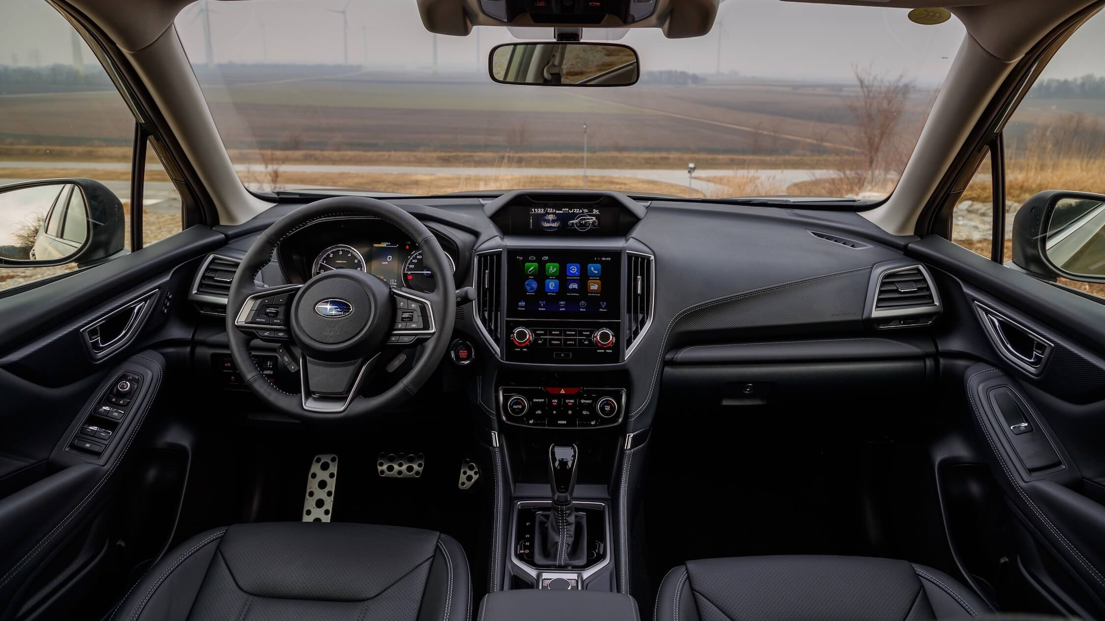 Hybride Subaru Forester interieur