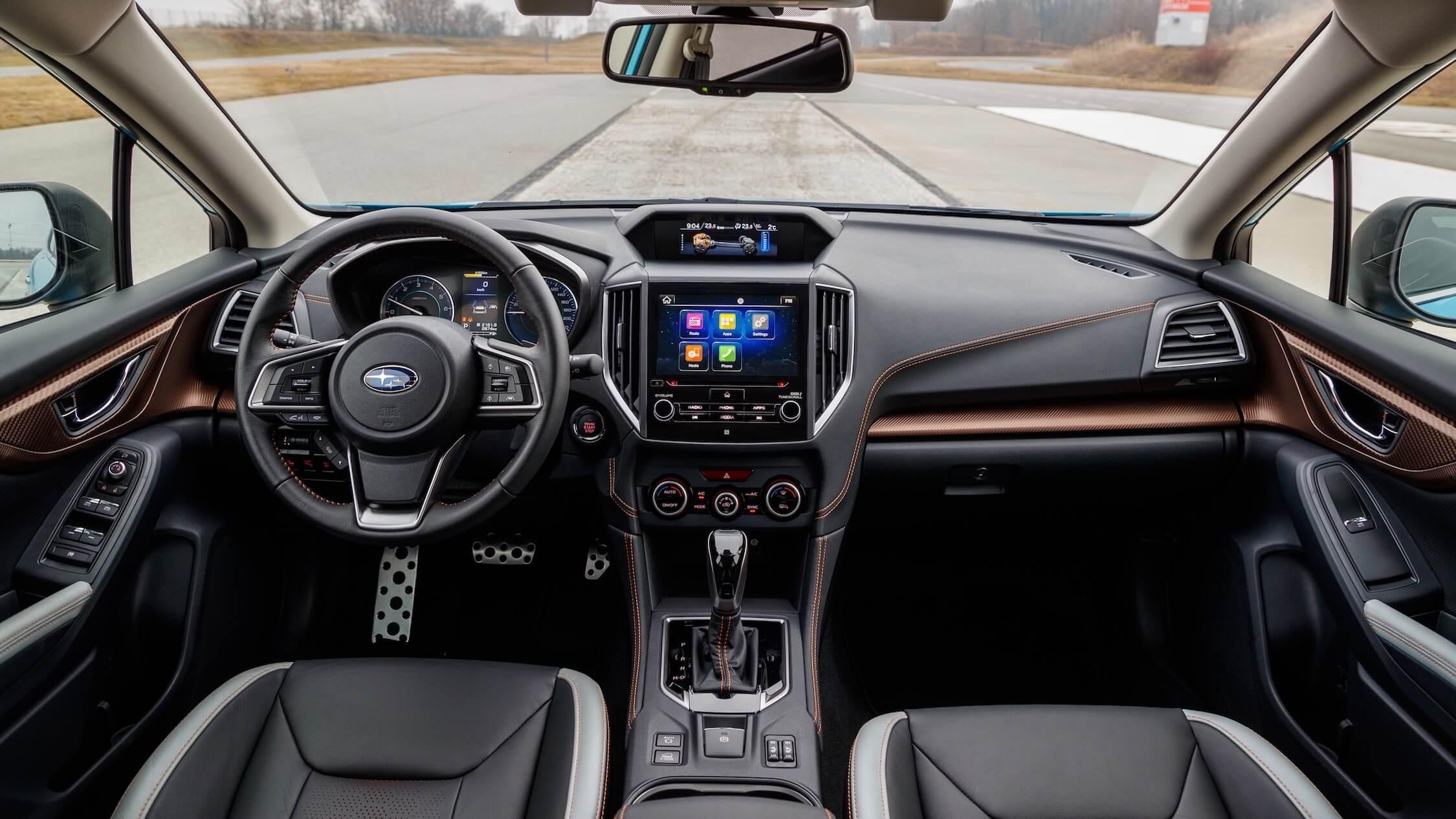 Hybride Subaru XV interieur