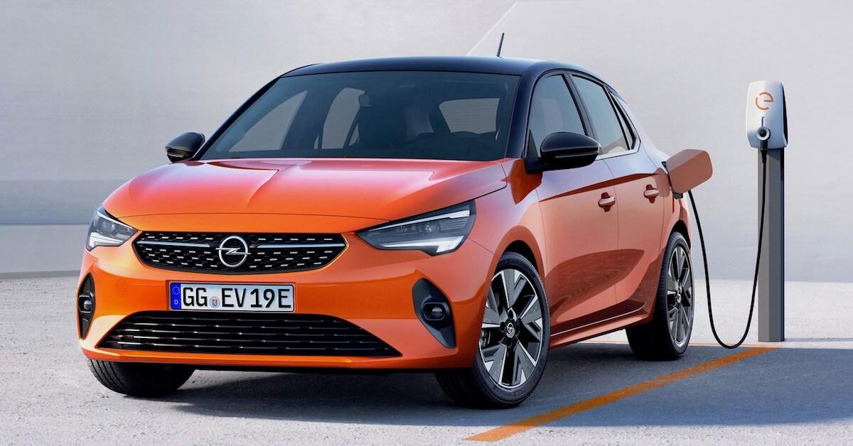 Opel Corsa e laadpaal