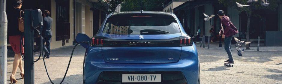 Peugeot 208 elektrisch