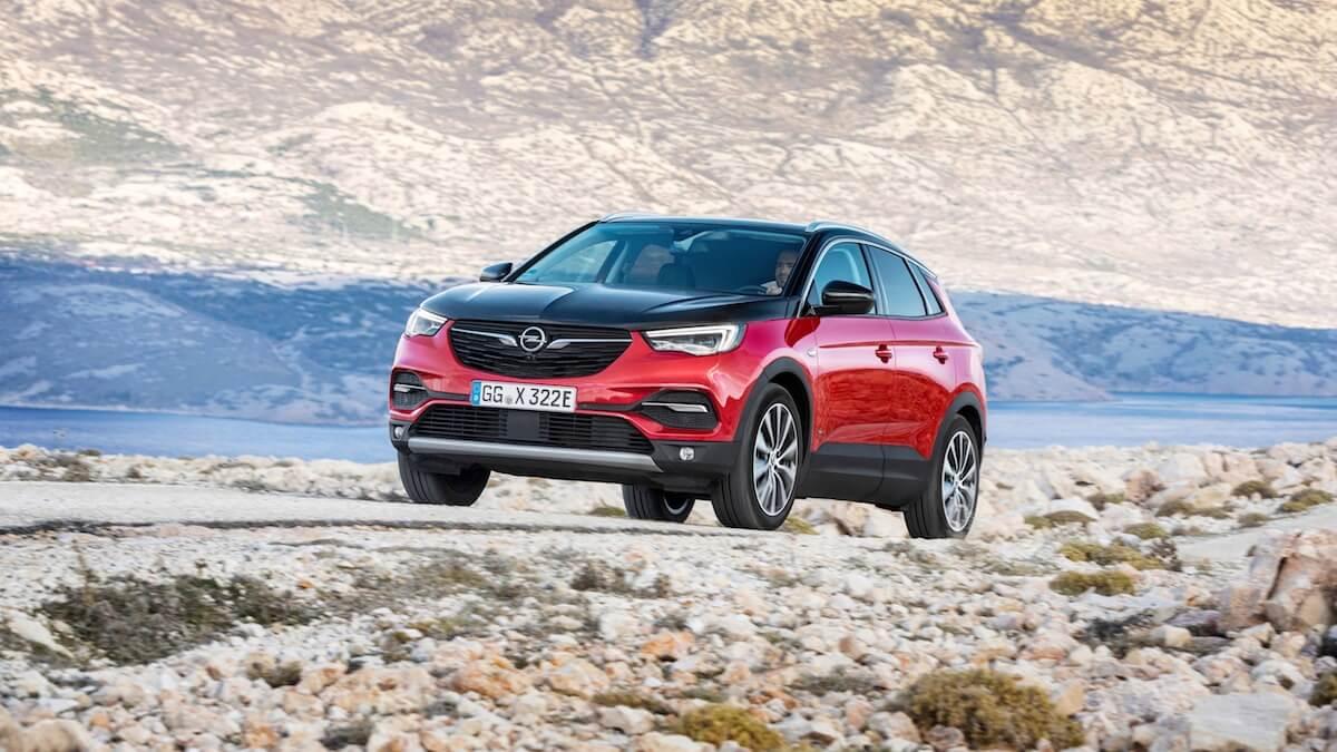 Plug-in hybride Opel Grandland X Hybrid4