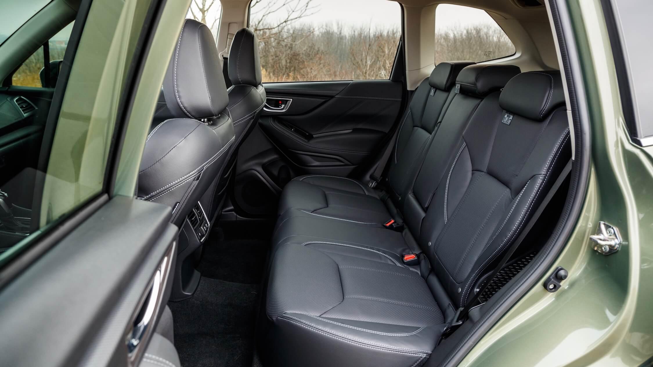 Subaru Forester e-Boxer achterbank