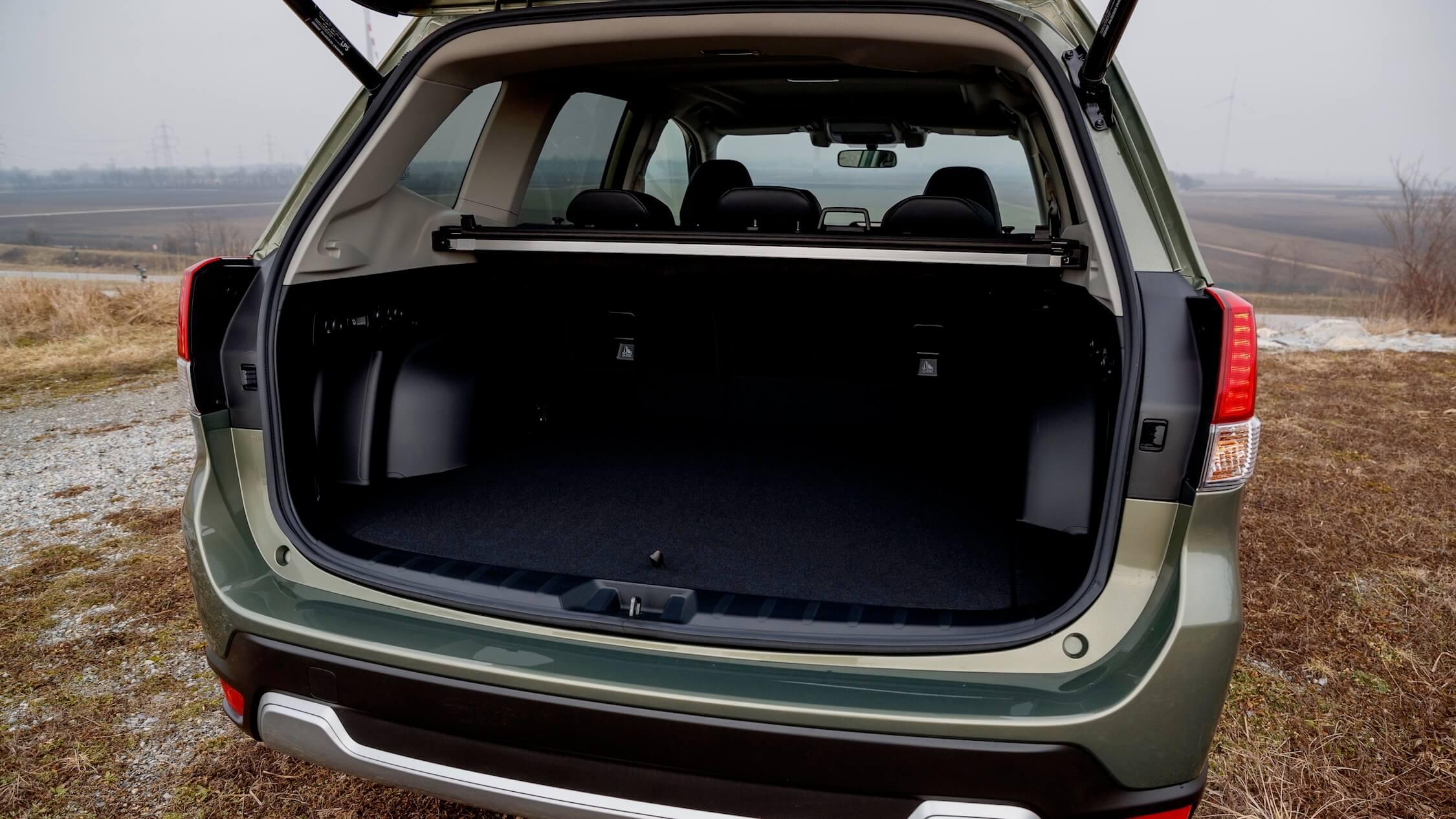 Subaru Forester e-Boxer koffer