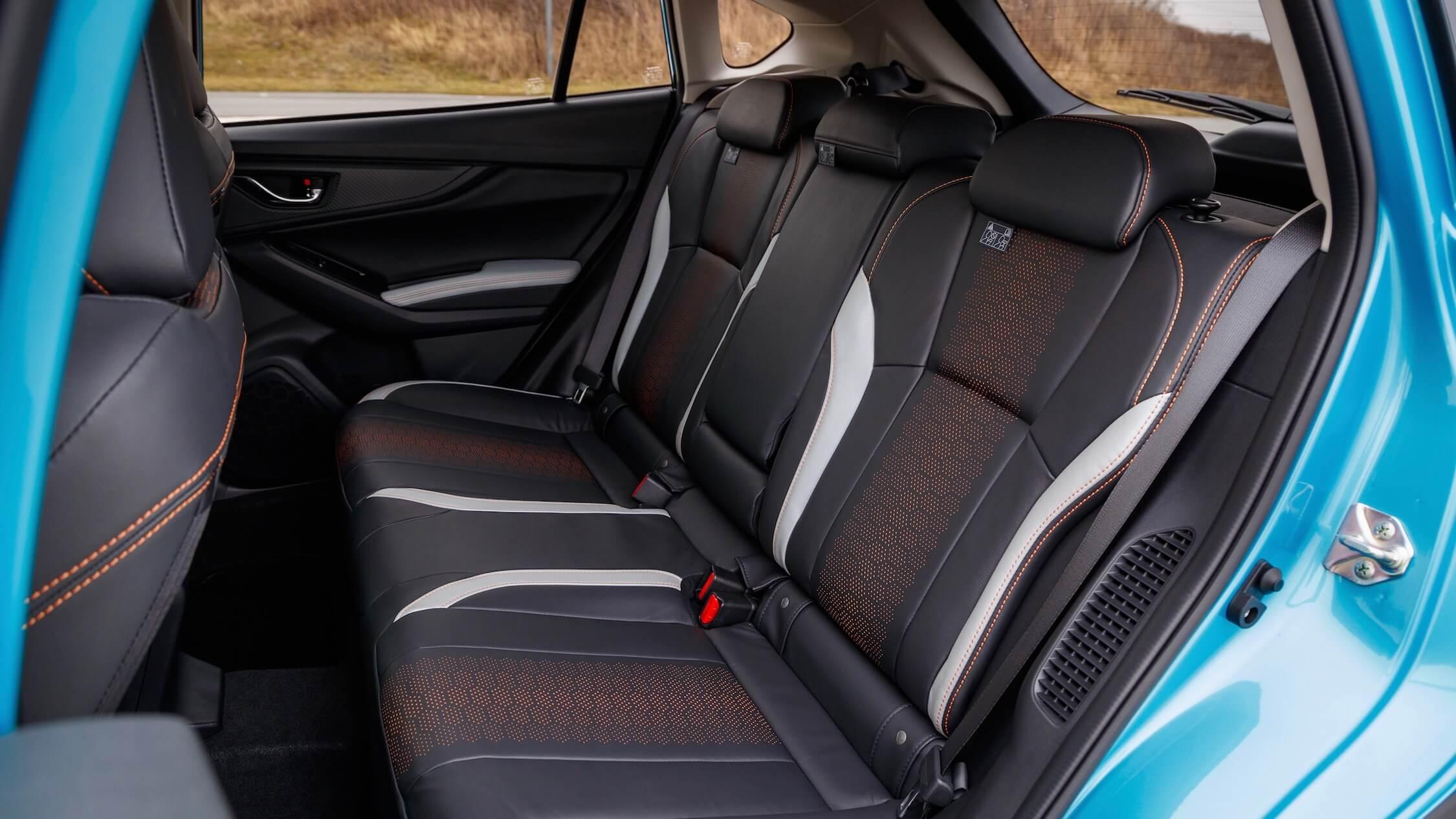 Subaru XV achterbank