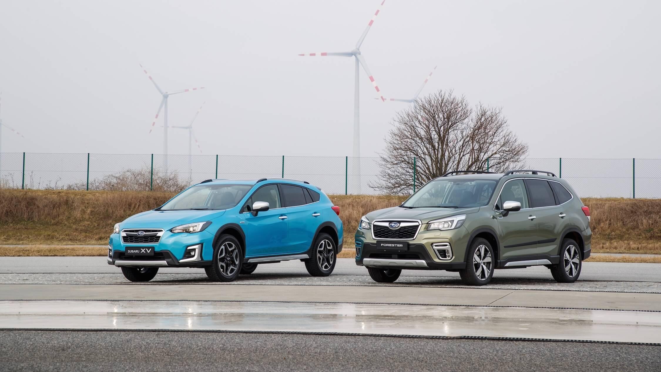 Subaru hybrides