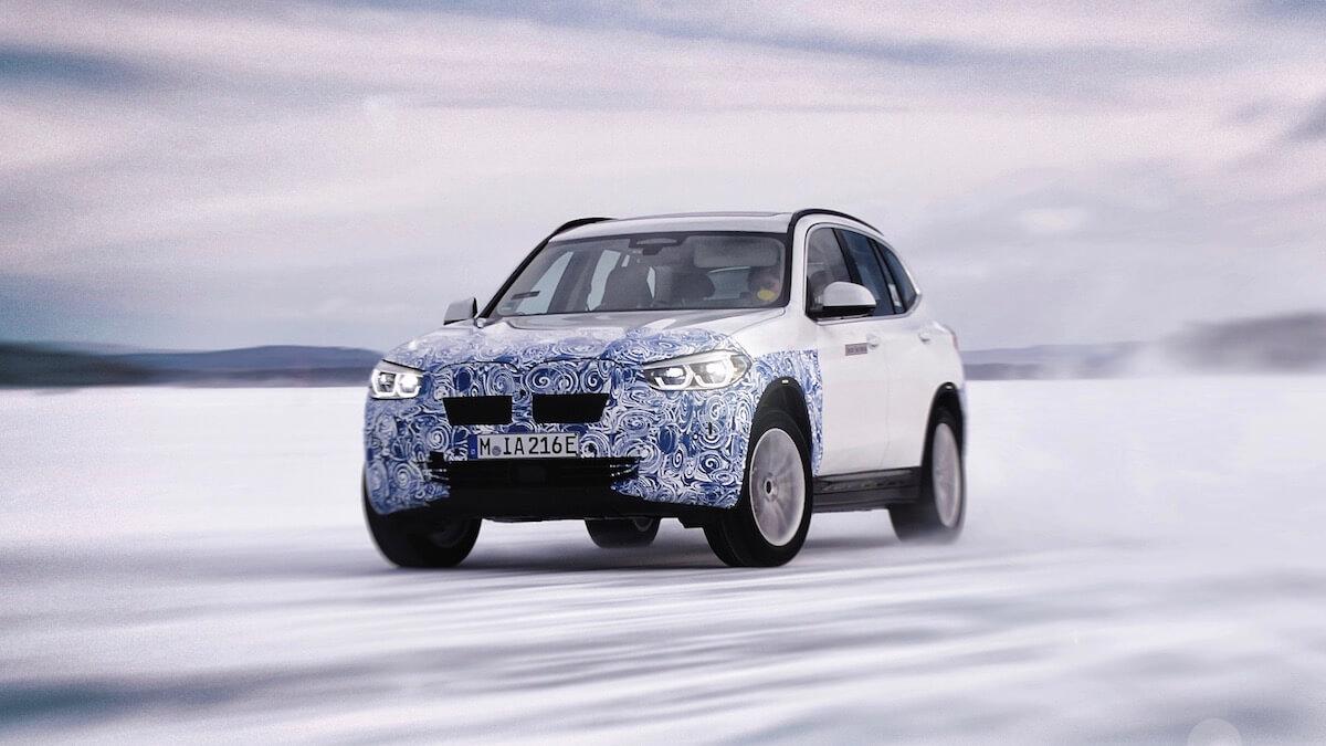 BMW iX3 foto