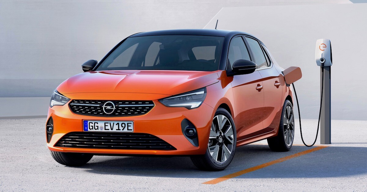 Elektrische Opel Corsa e