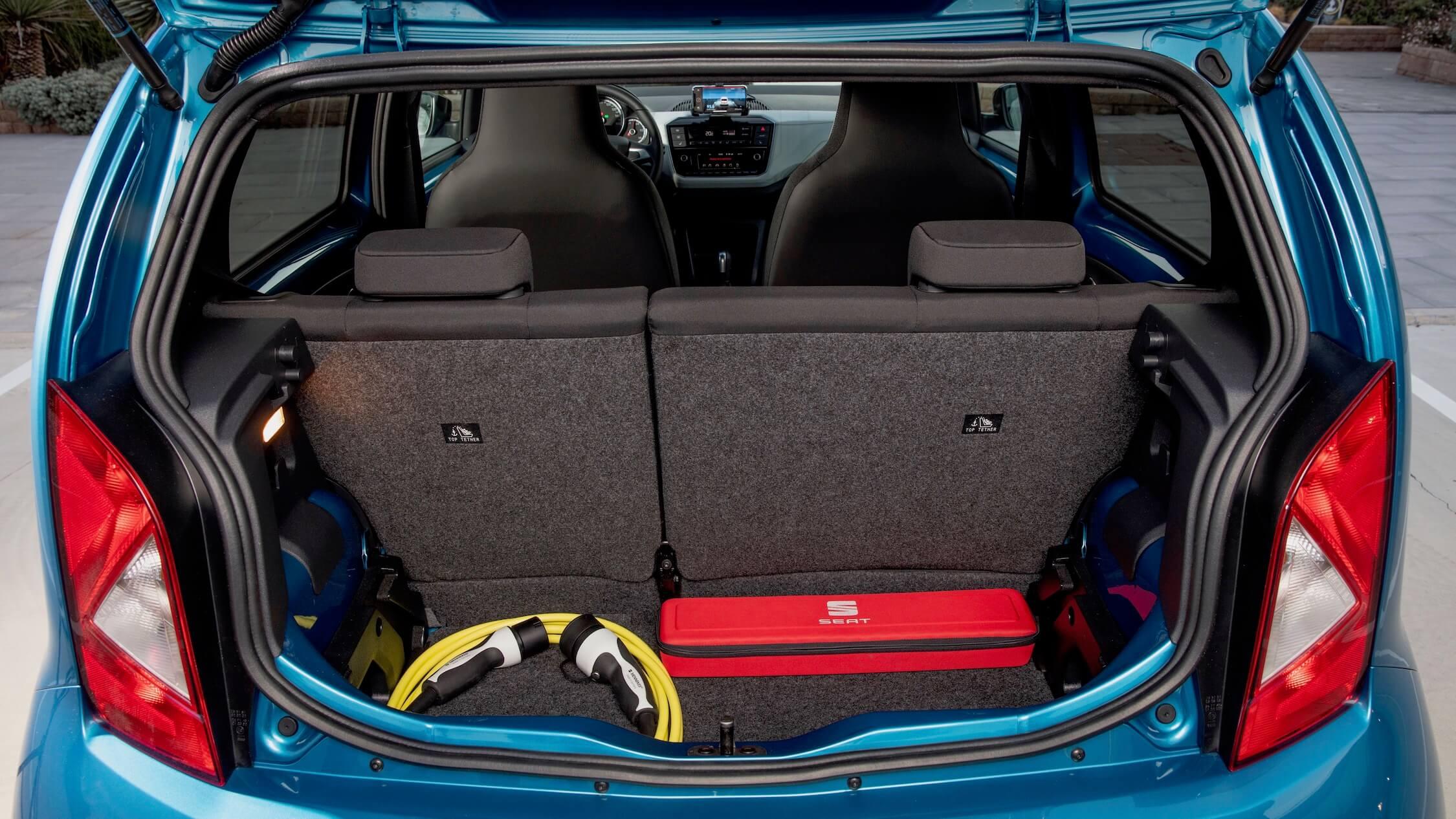 Elektrische Seat Mii koffer