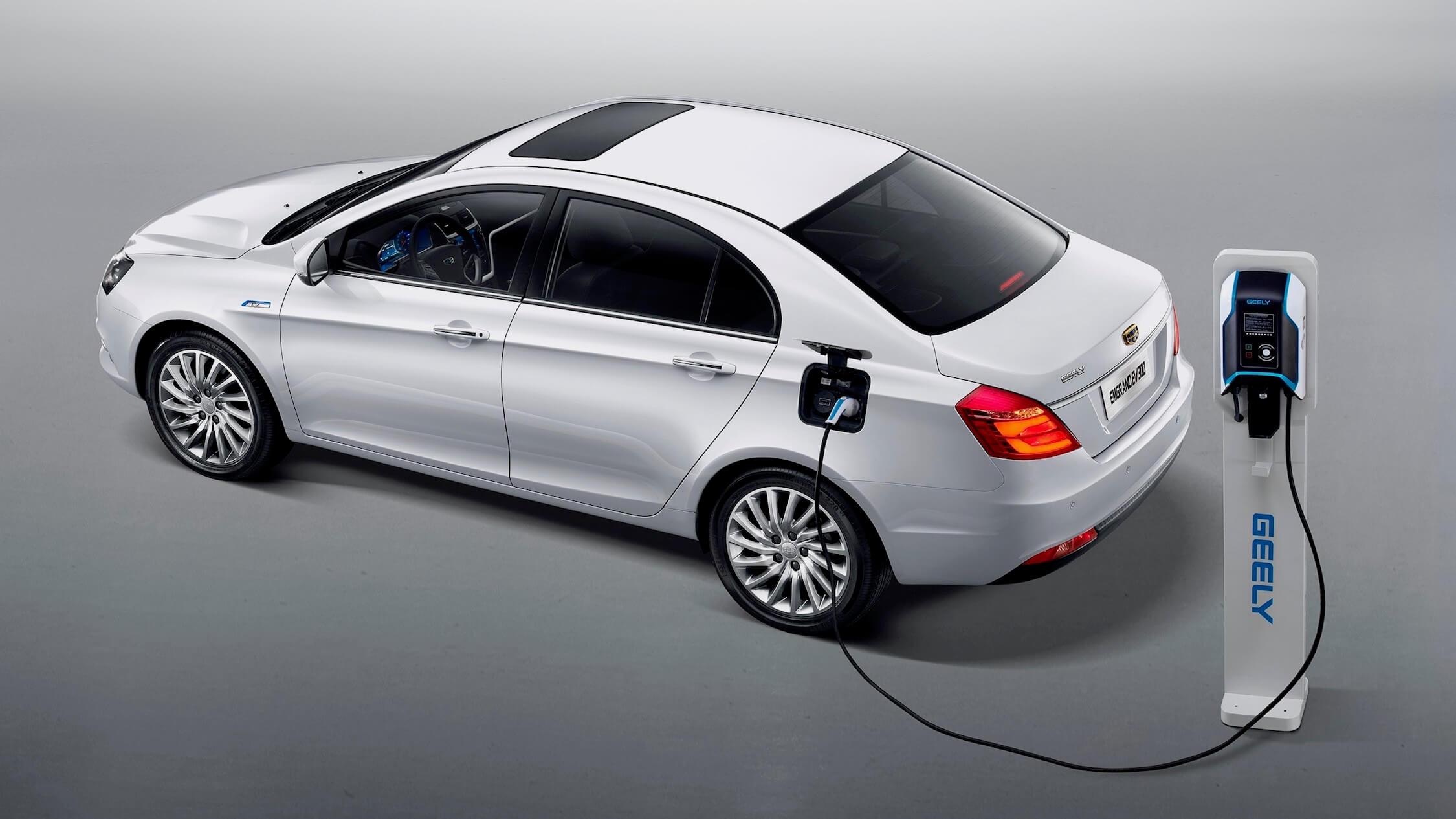 Geely Emgrand elektrische auto