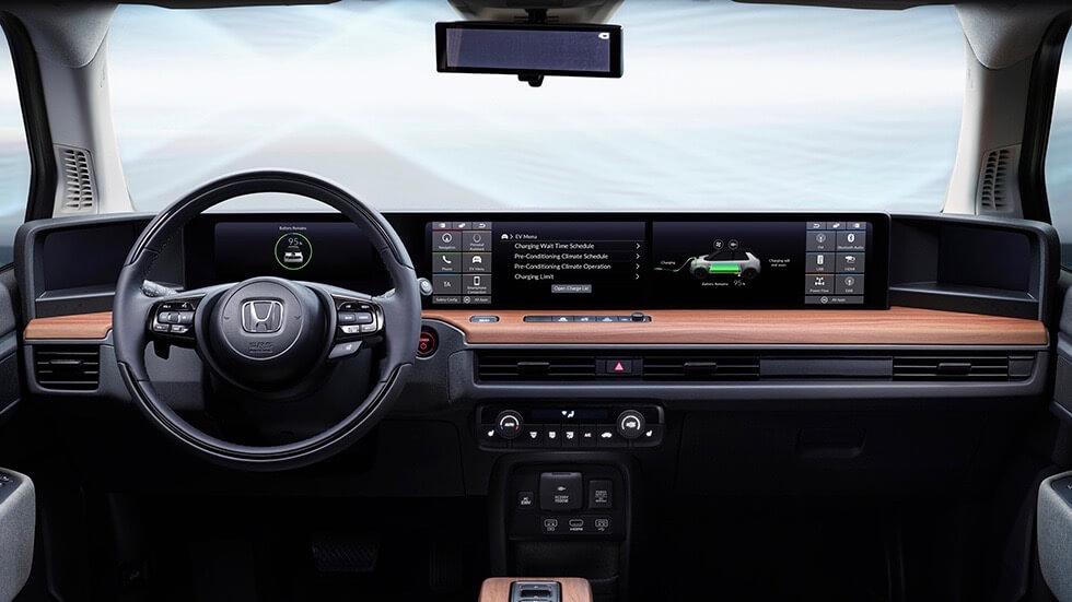 Honda e interieur