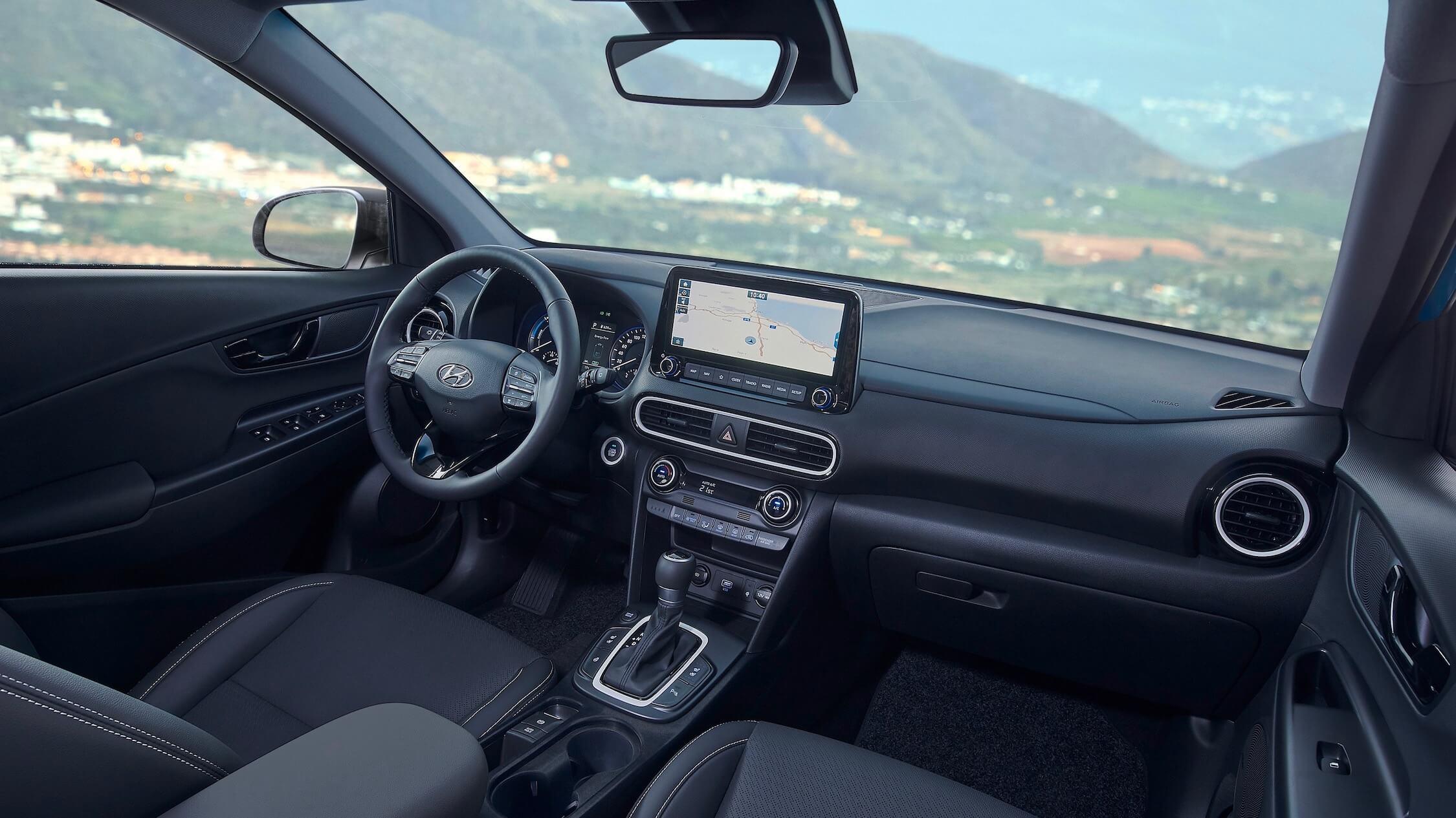 Hyundai Kona Hybride interieur