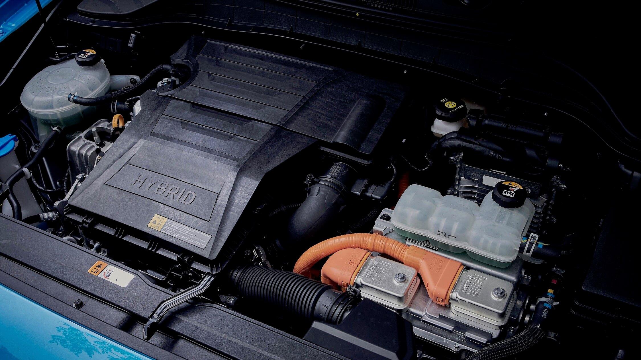 Hyundai Kona Hybride motor