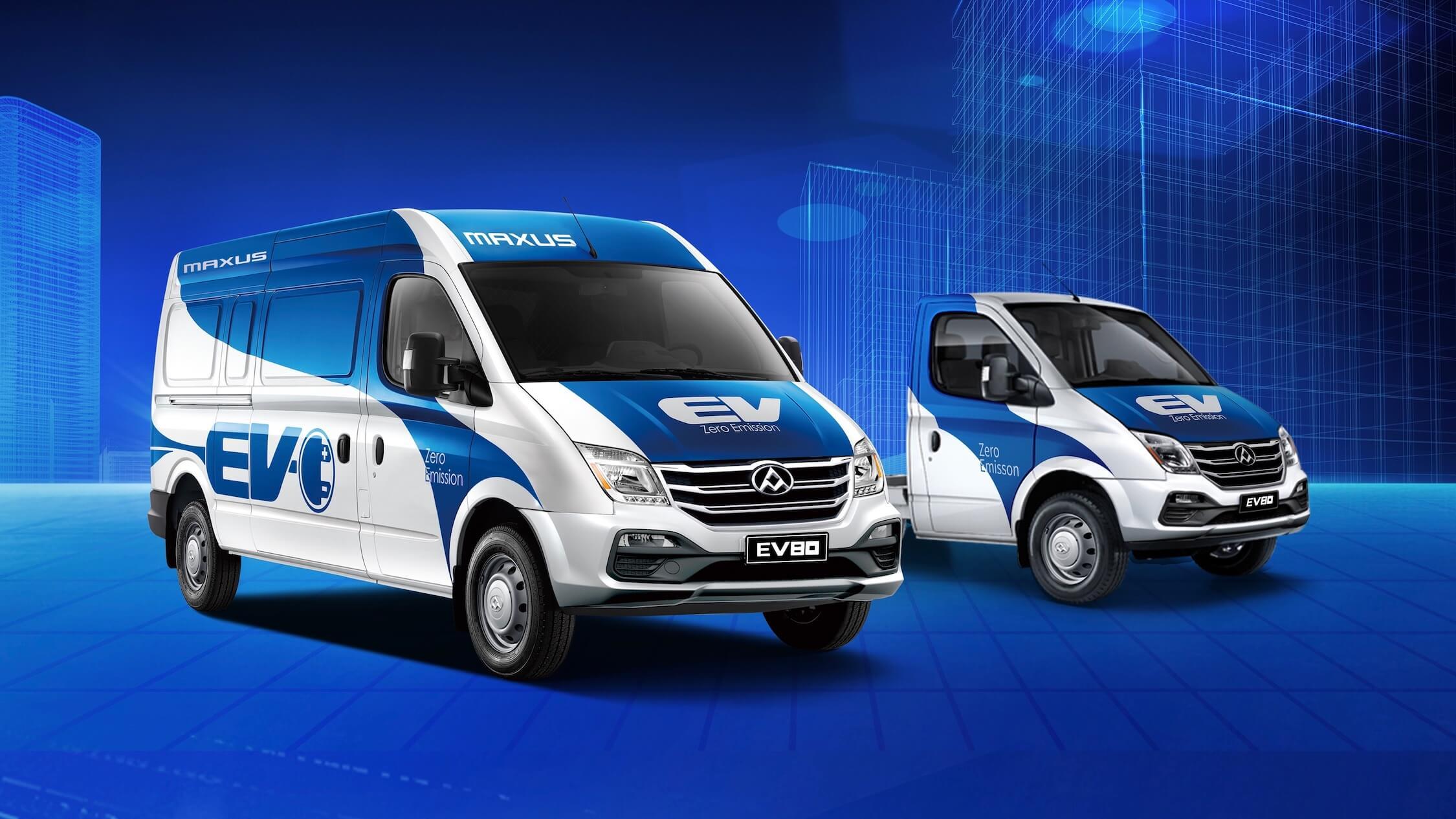Maxus EV80 elektrische camionette