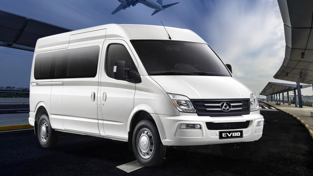 Maxus EV80 minibus