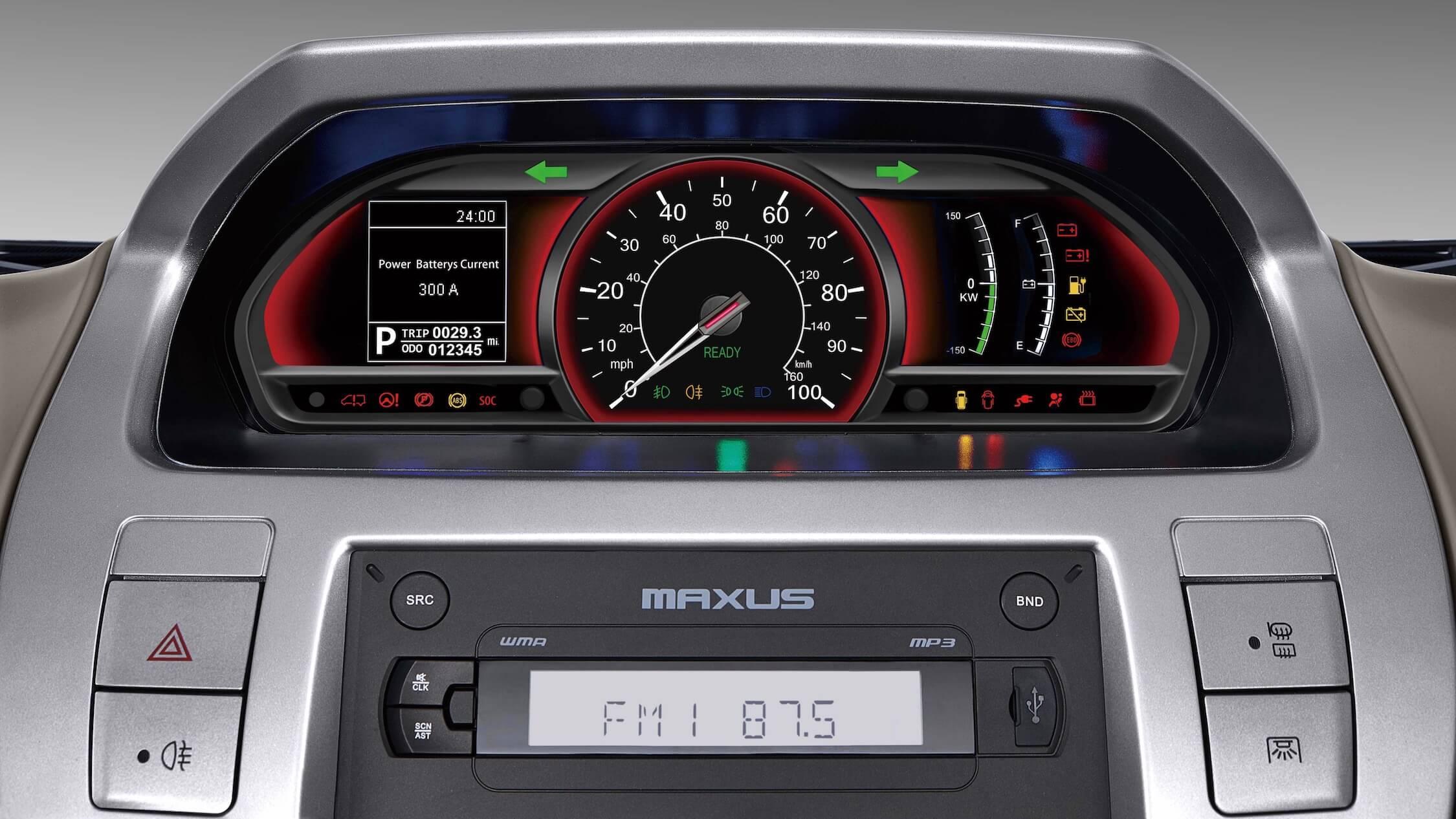 Maxus EV80 tellers
