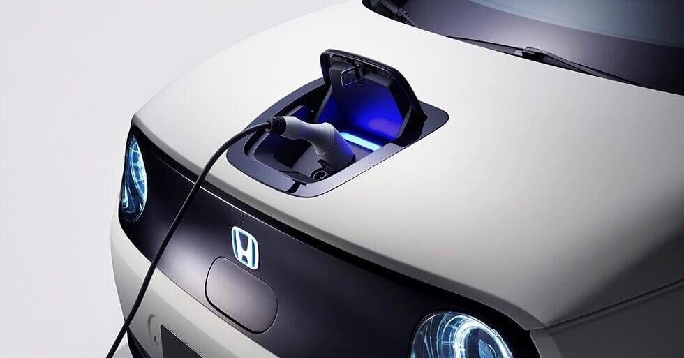 elektrische Honda opladen