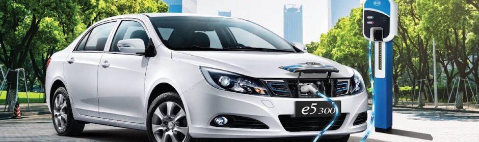 elektrische wagen in China