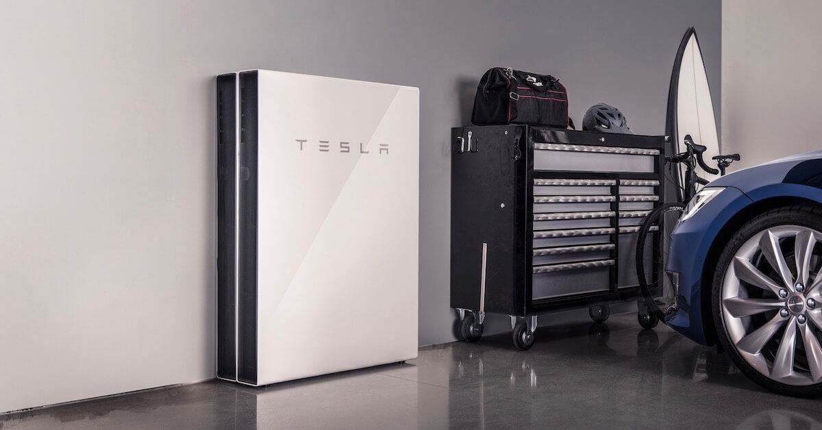 thuisbatterij in garage