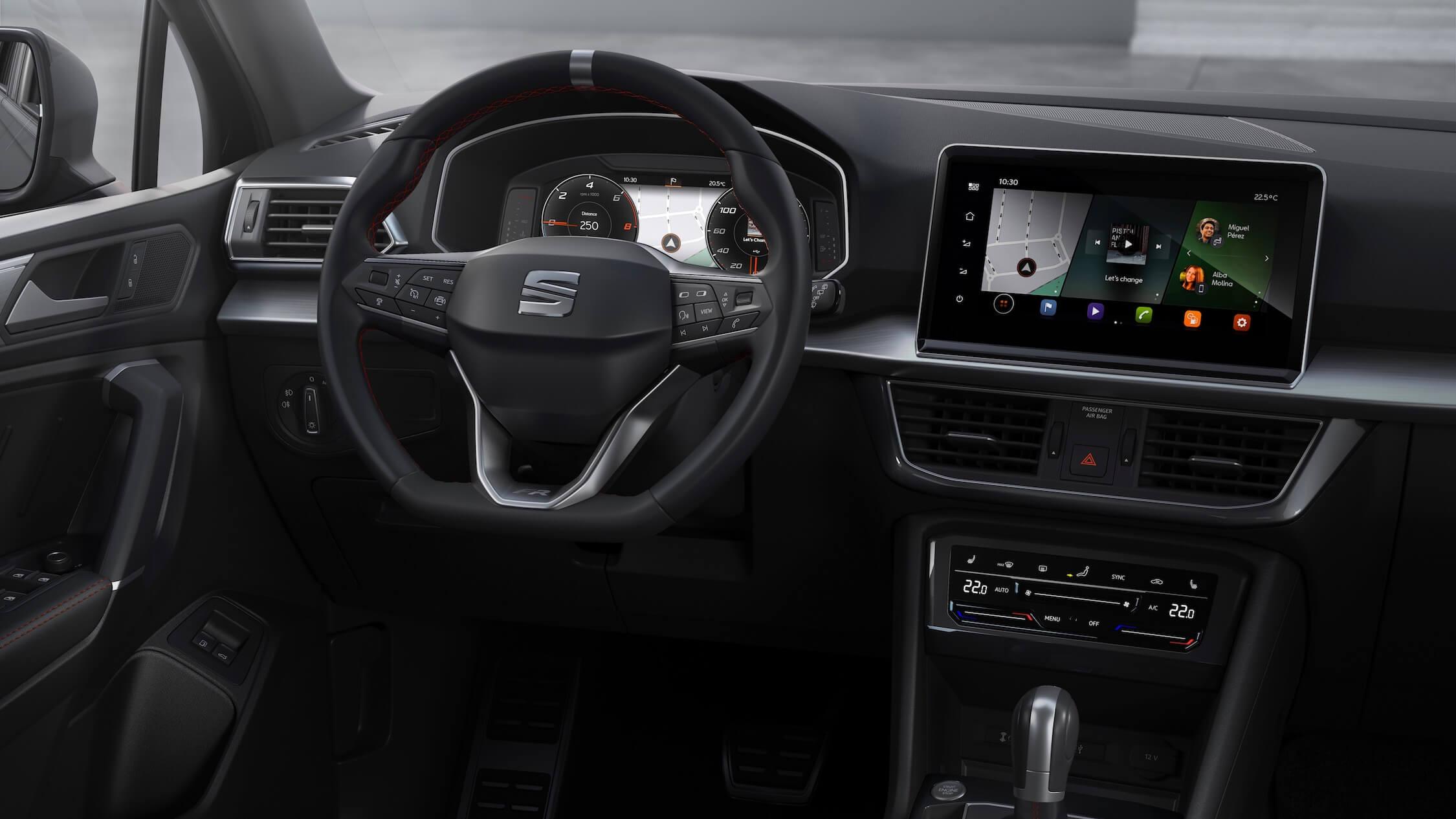 Hybride Seat Tarraco interieur