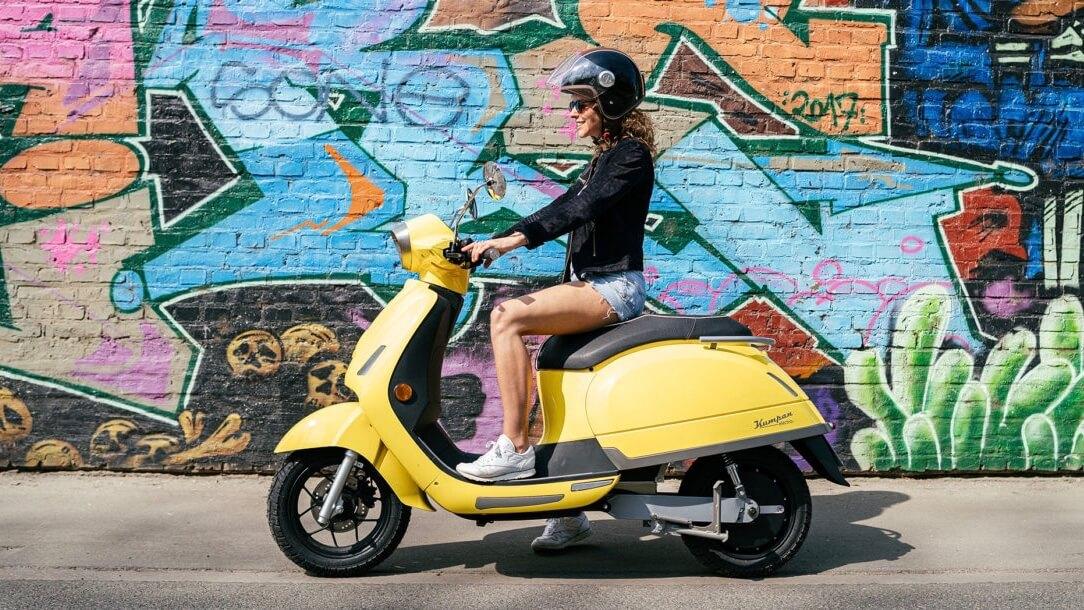Kumpan 1954 Inspire scooter