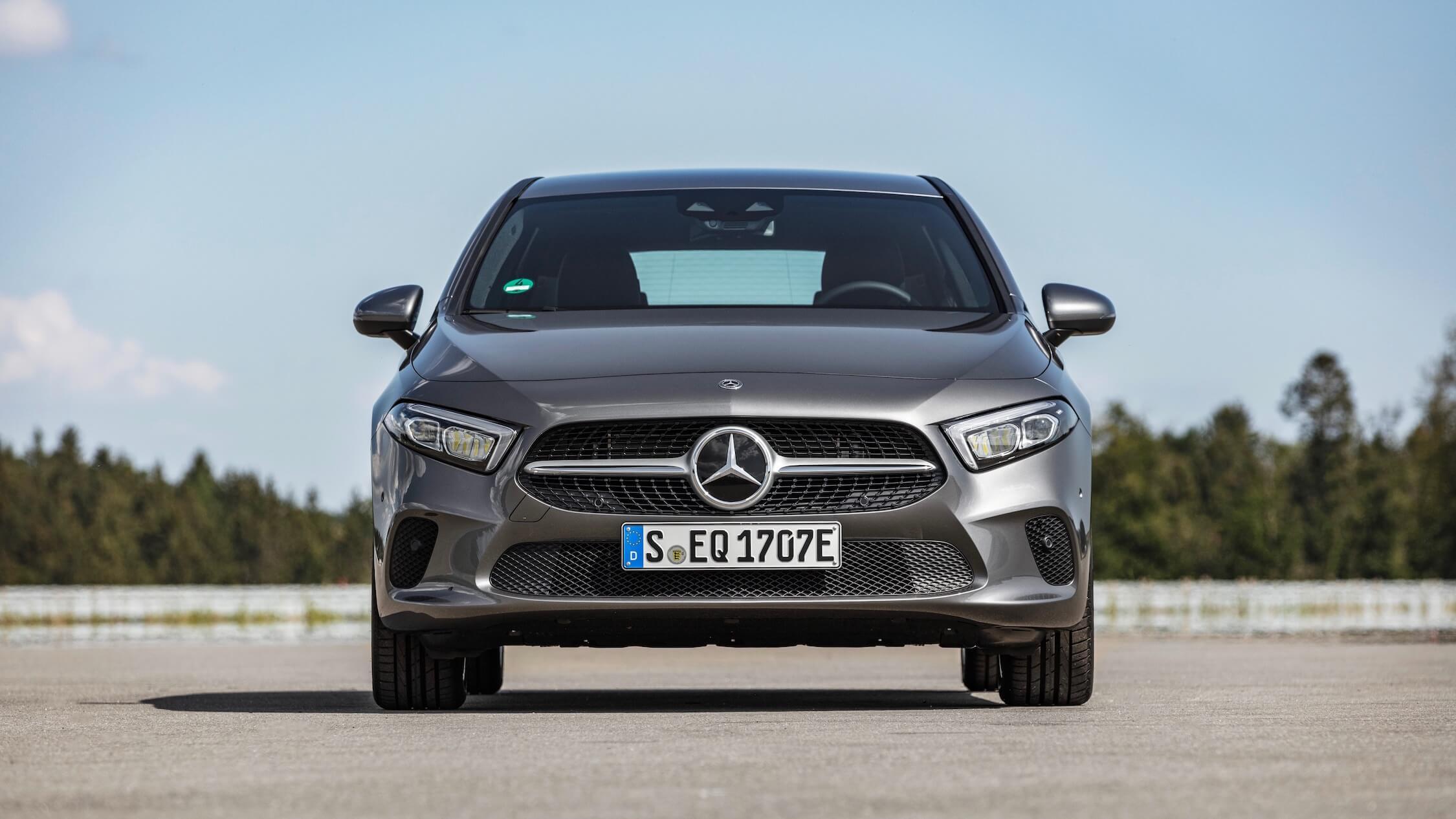 Mercedes A-Klasse voorkant