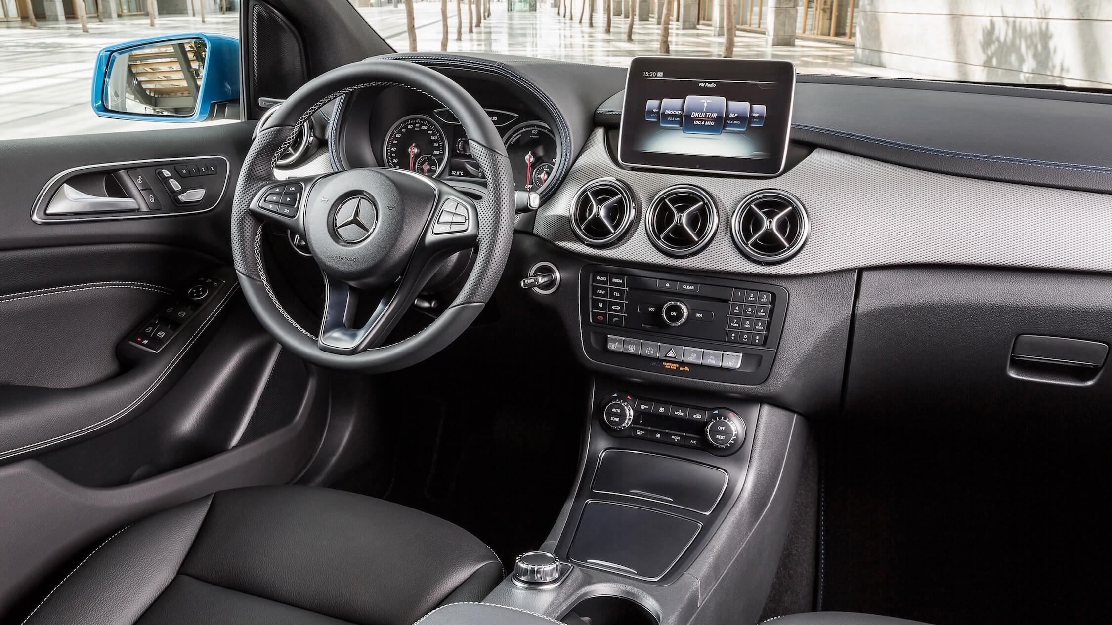 Mercedes B Electric Drive interieur
