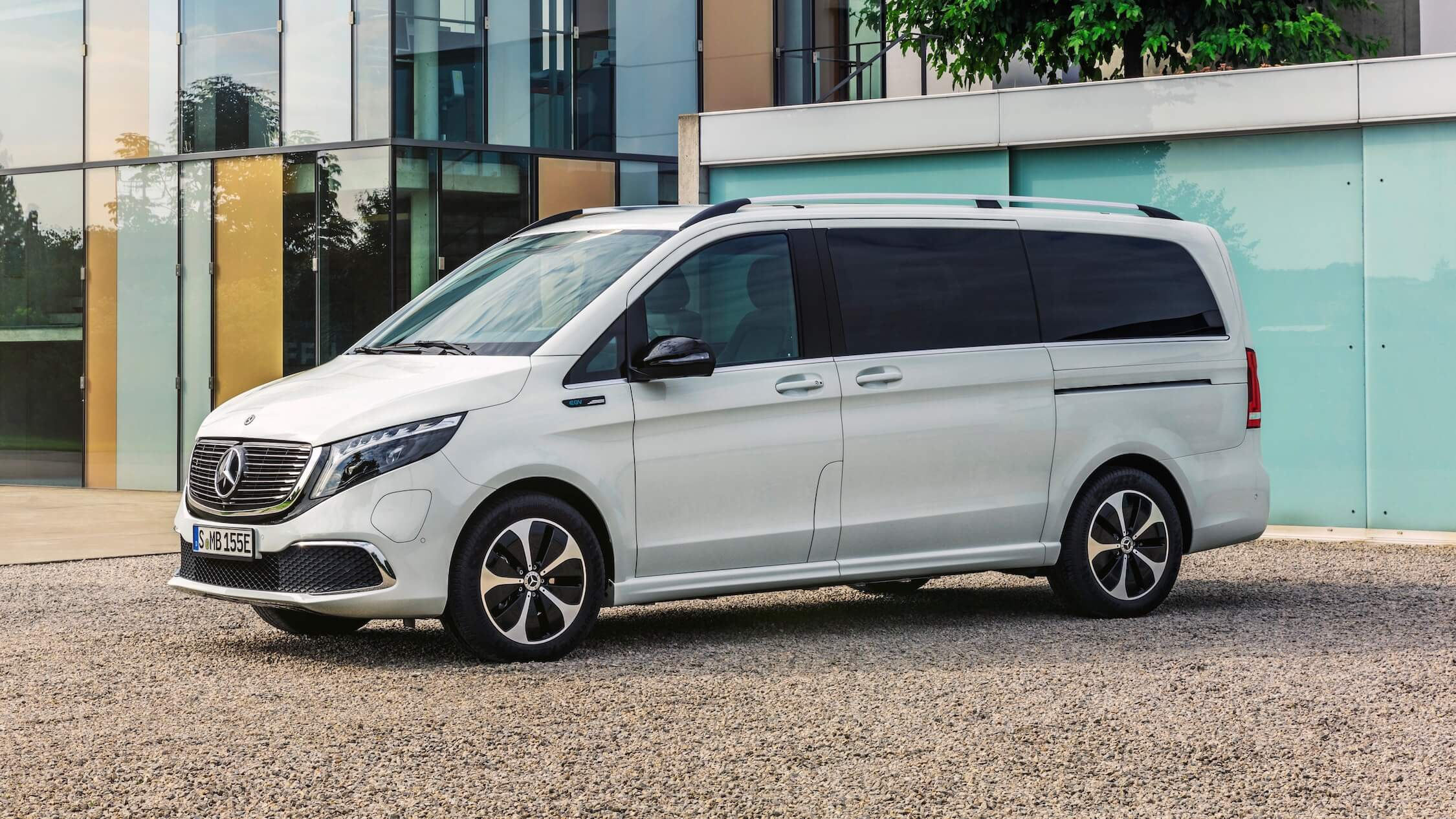 Mercedes EQV wit