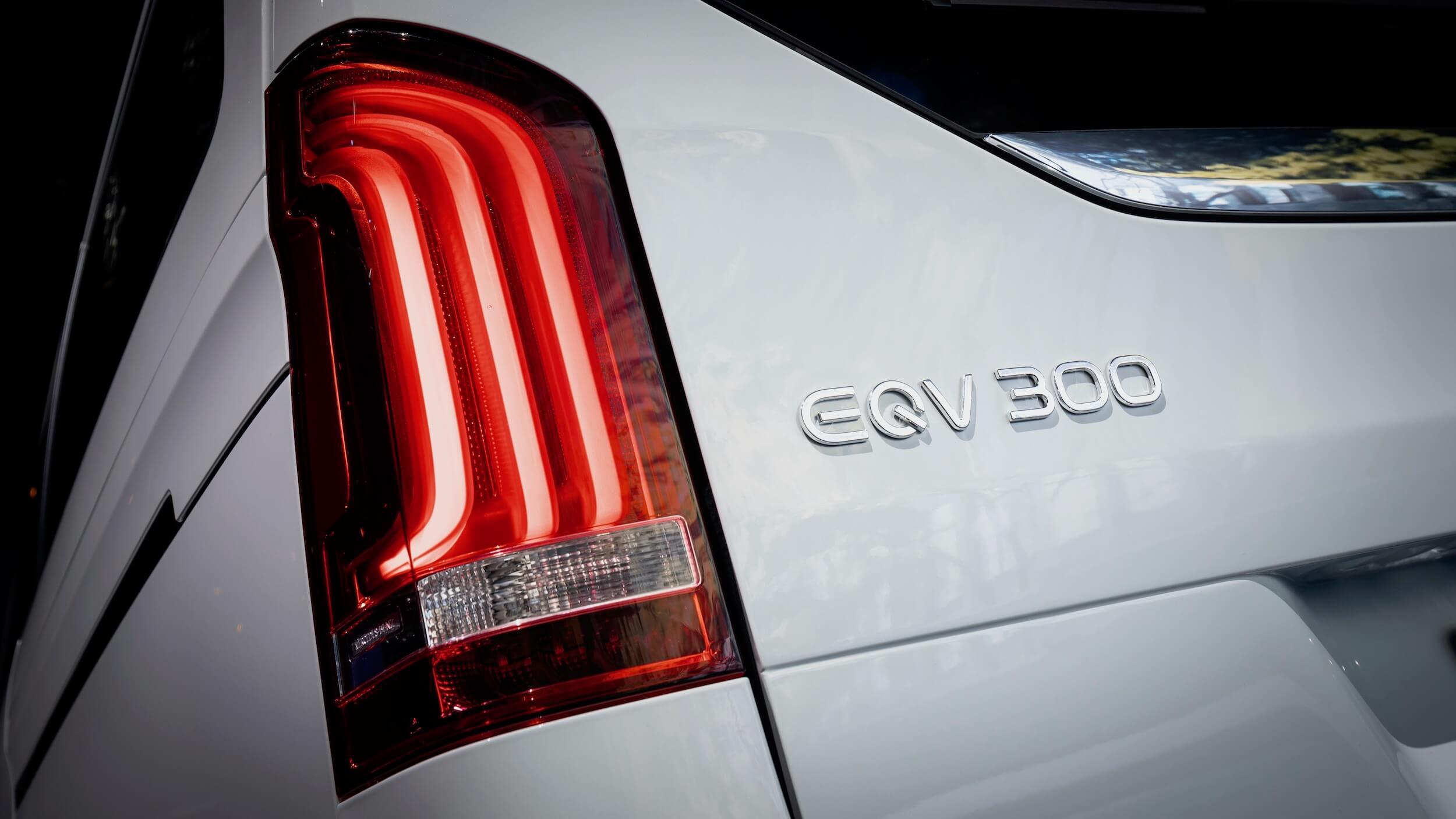 Mercedes EQV 300 badge