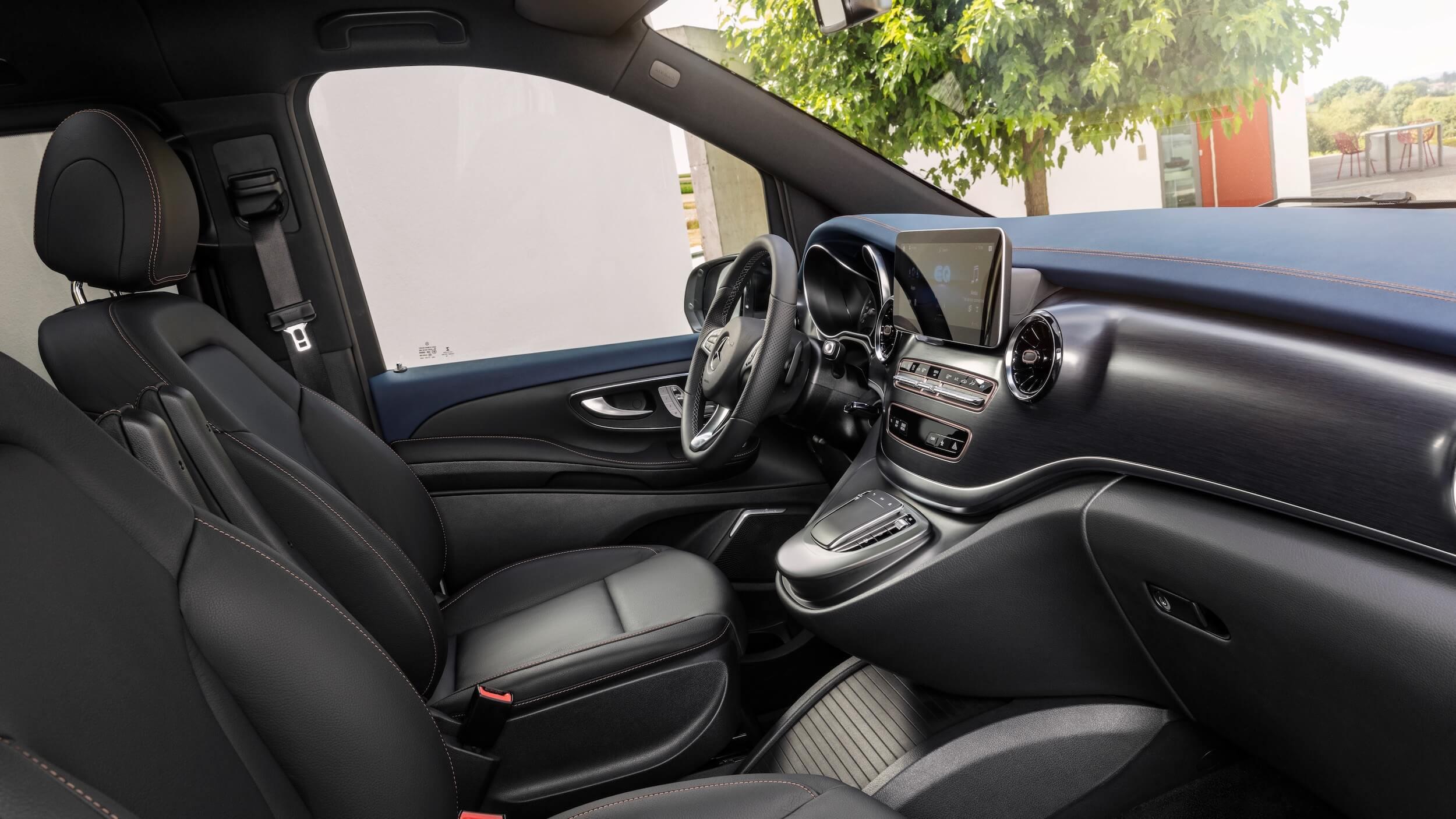Mercedes EQV zetels