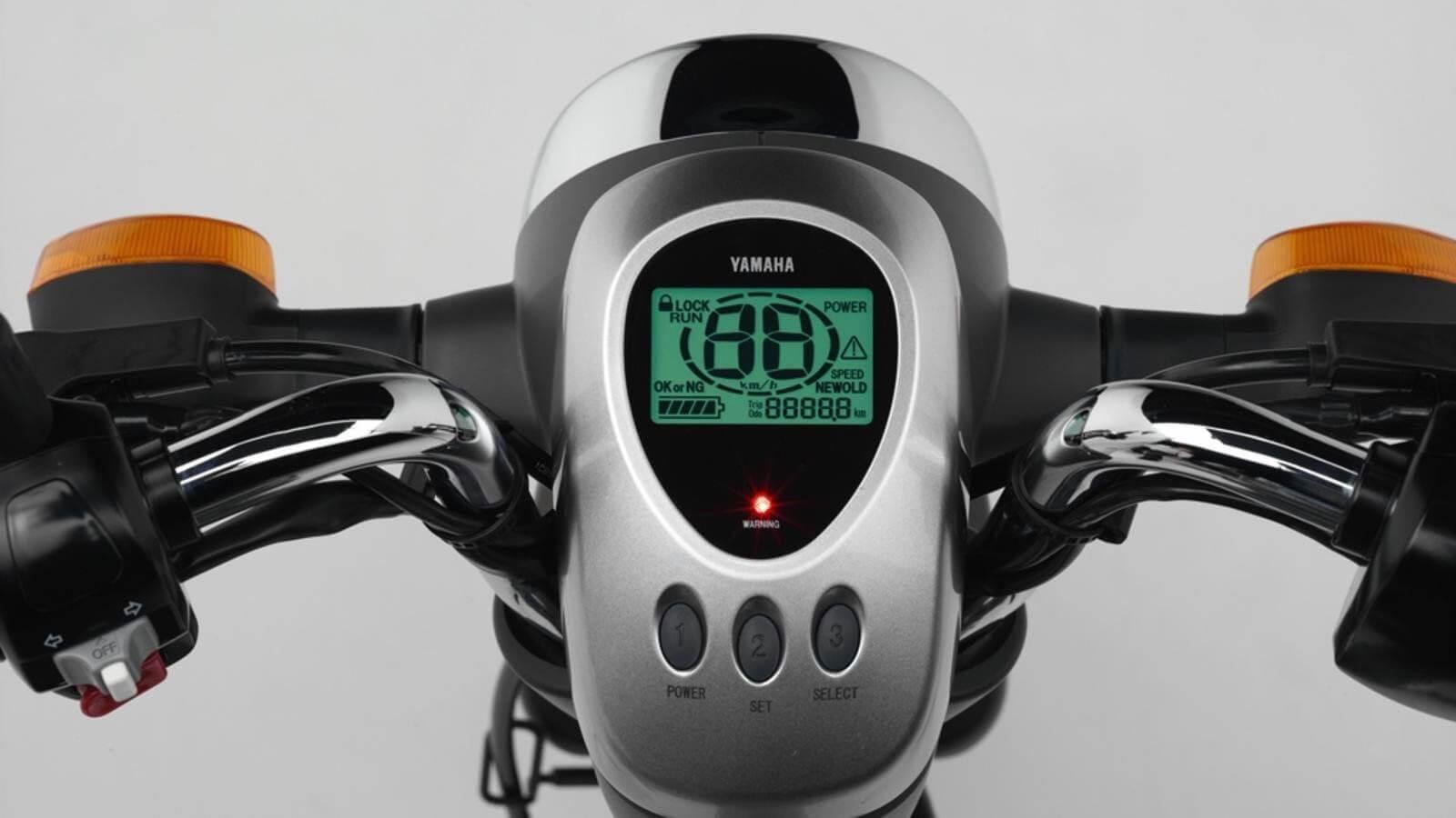 Yamaha EC-03 display